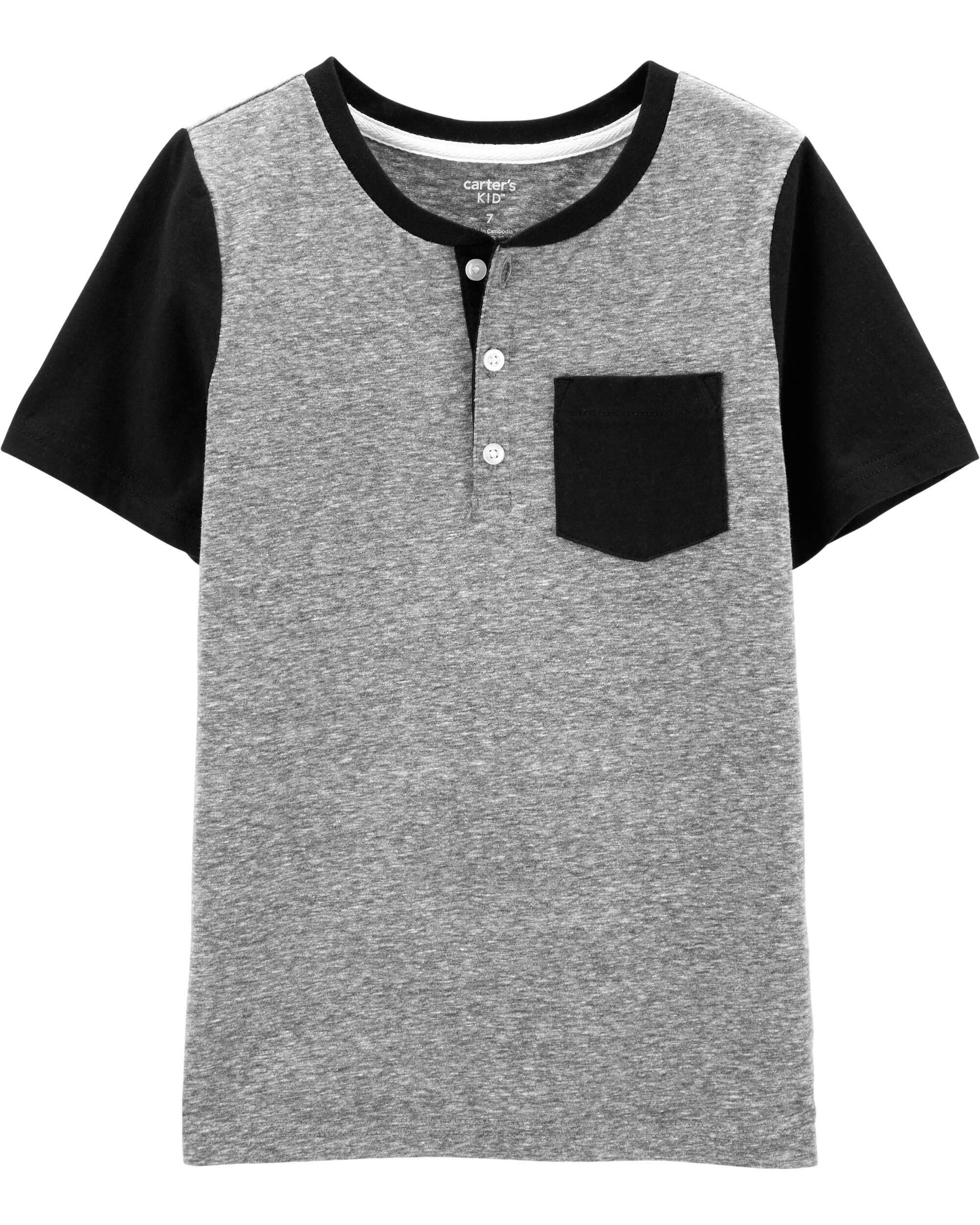 *Clearance*  Snow Yarn Raglan Henley