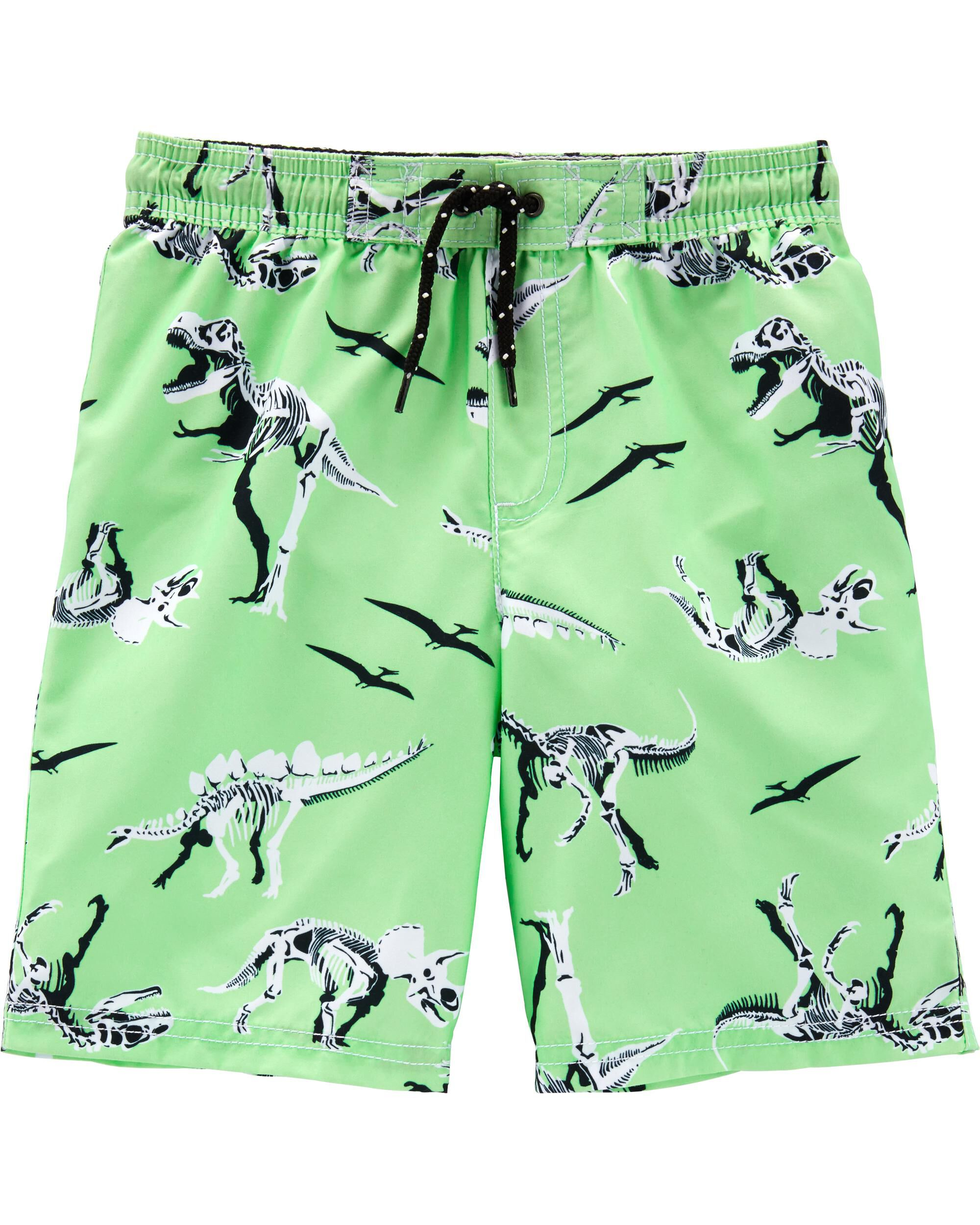 *Clearance*  Carter's Dinosaur Swim Trunks