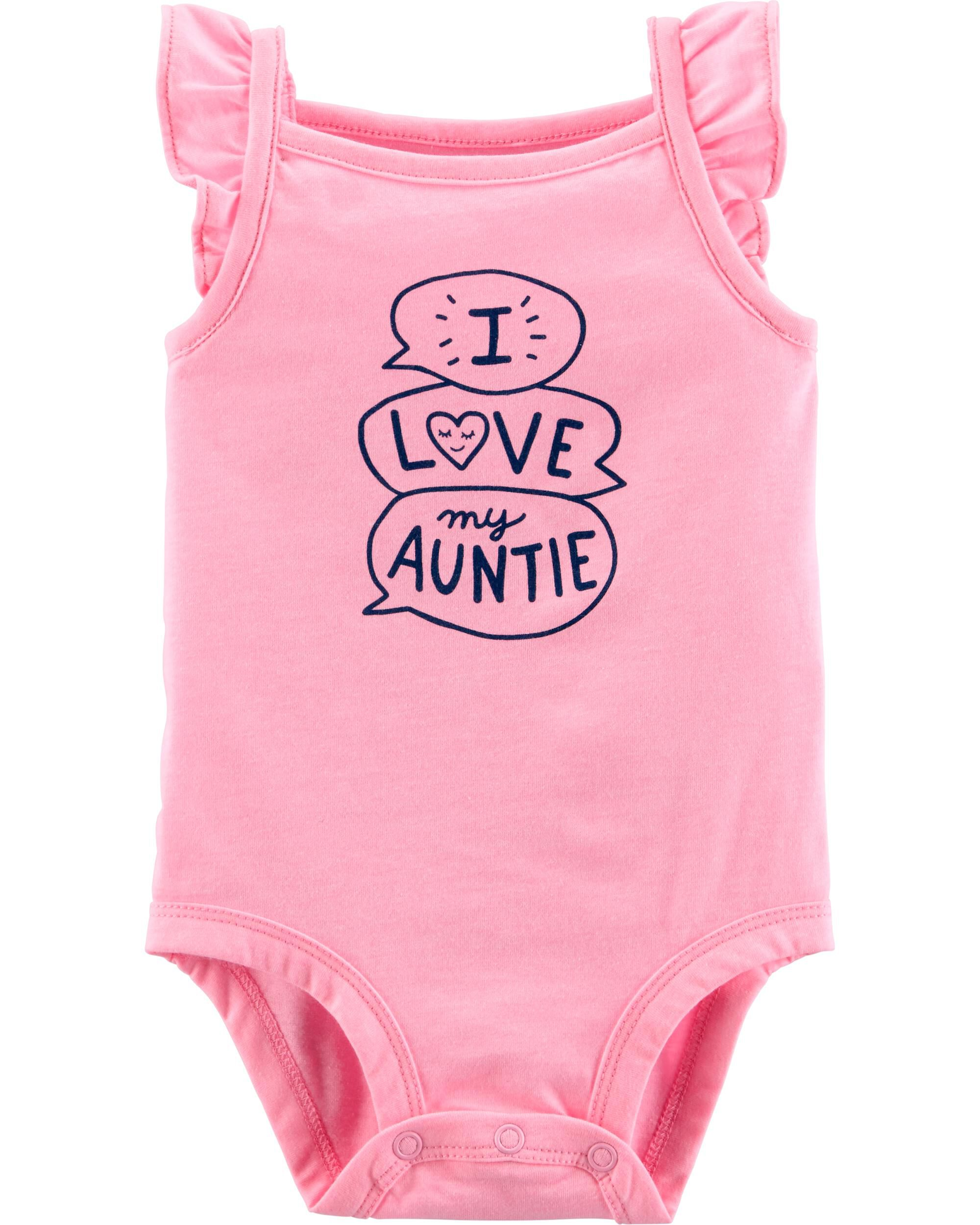 *Clearance*  Neon Love My Auntie Tank Collectibl...