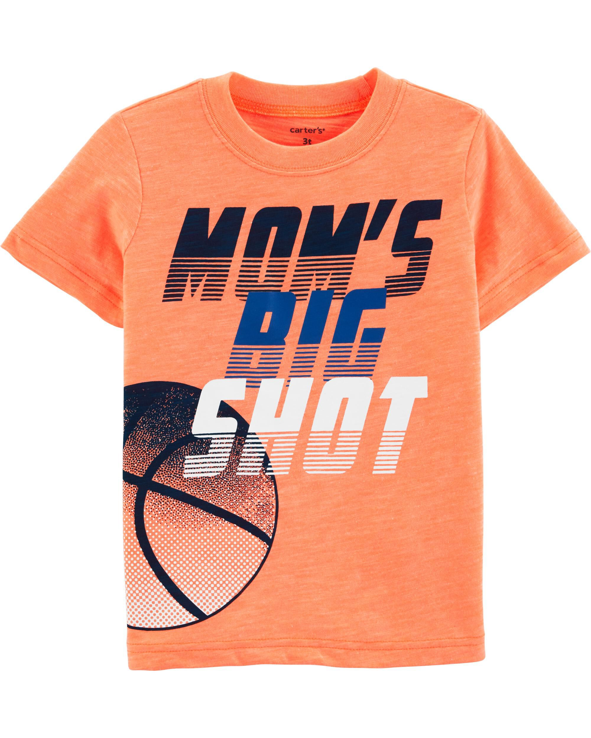 *Clearance*  Neon Basketball Slub Active Tee