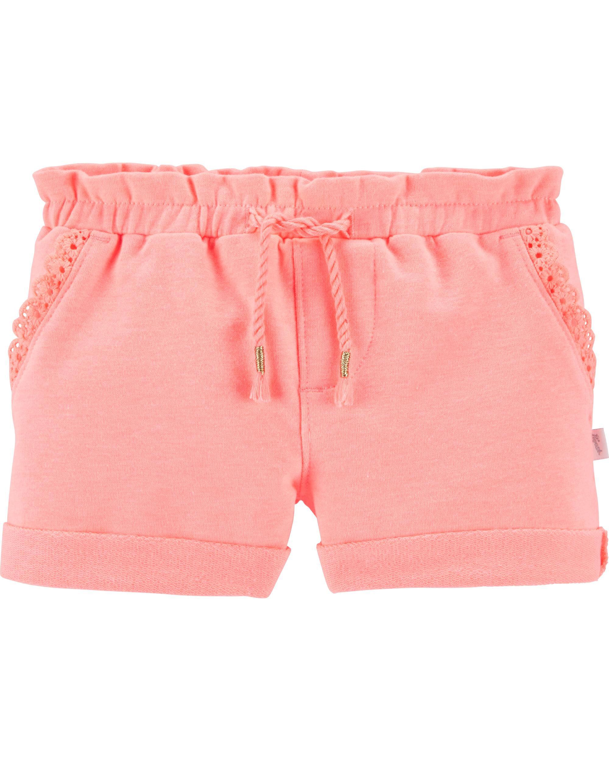 *Clearance*  Neon Ruffle Shorts