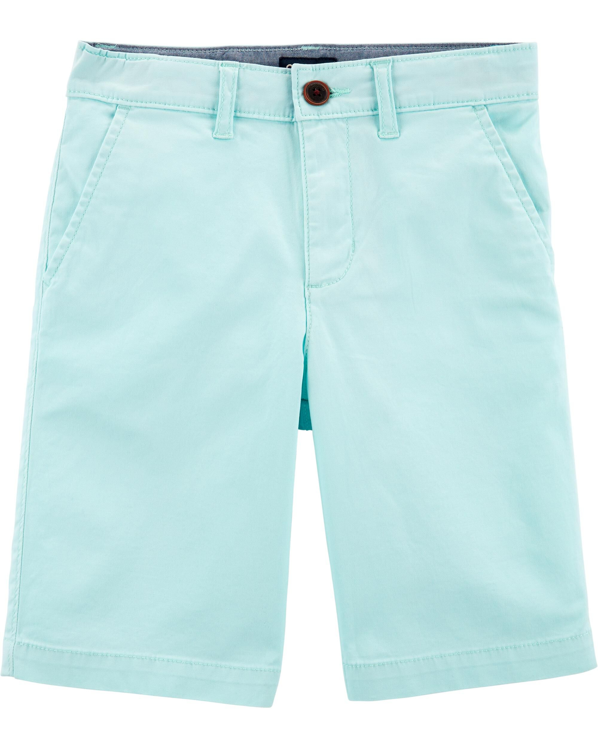 *Clearance*  Stretch Flat Front Shorts