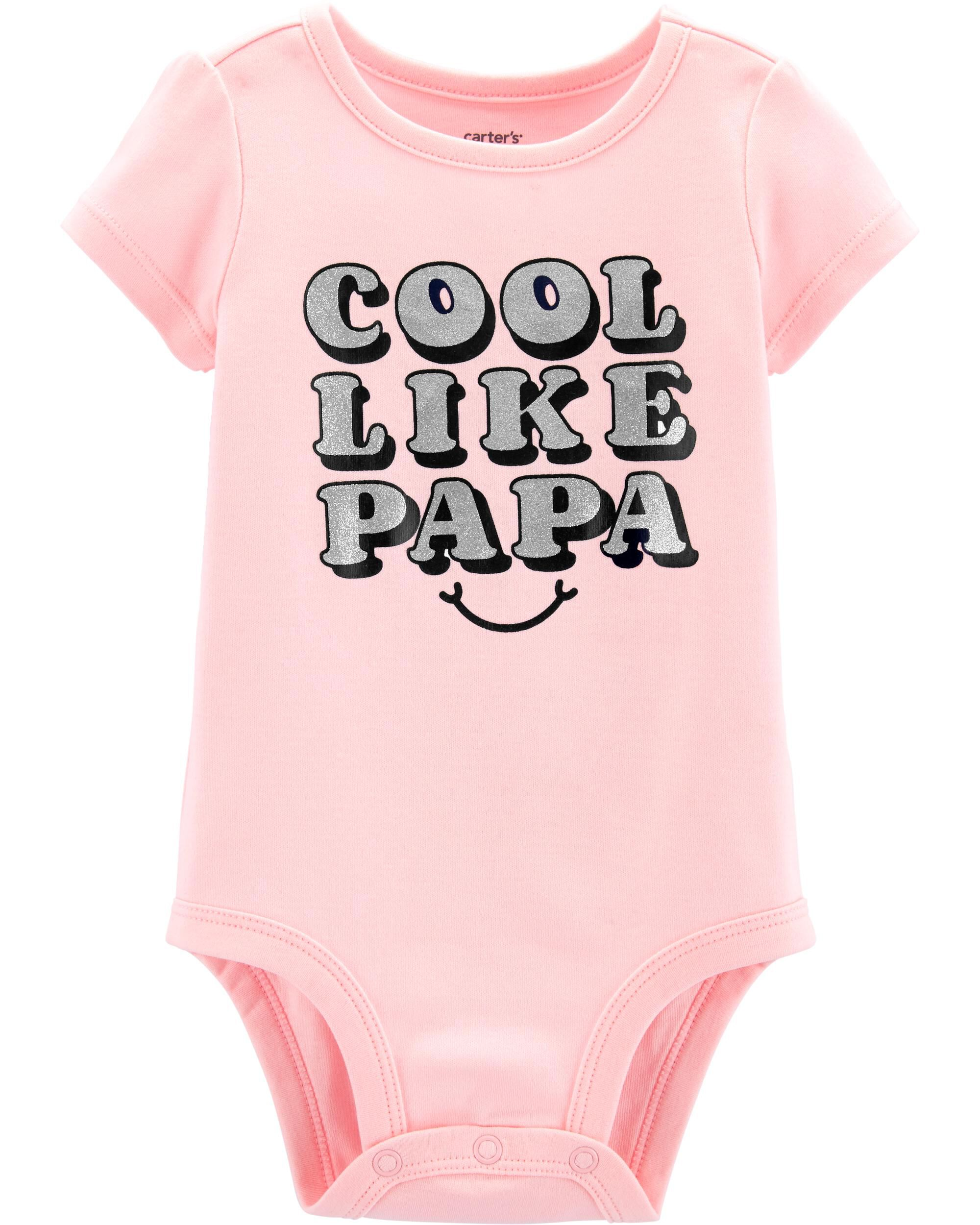 *Clearance*  Cool Like Papa Collectible Bodysuit