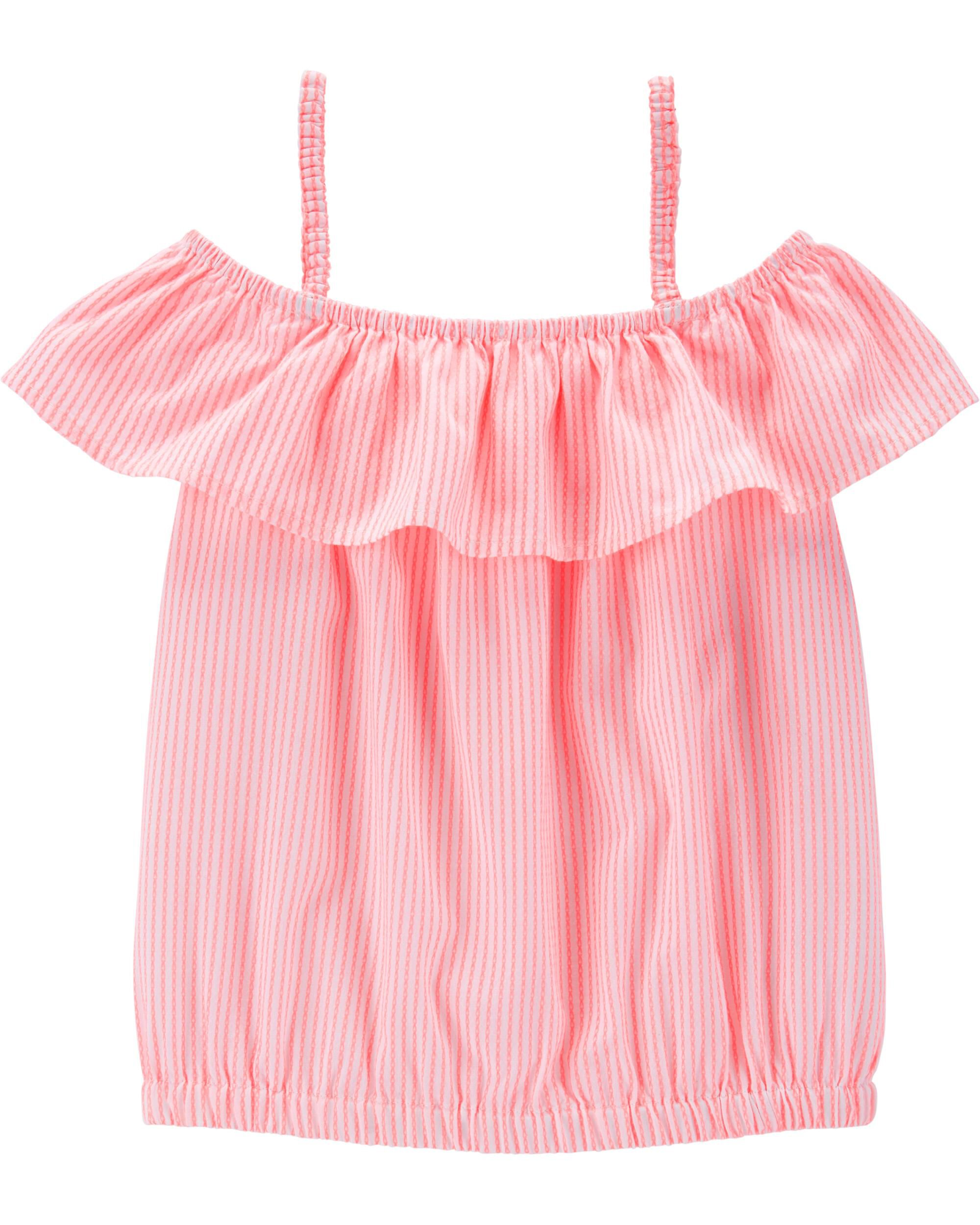 *Clearance*  Striped Scoop Neck Top