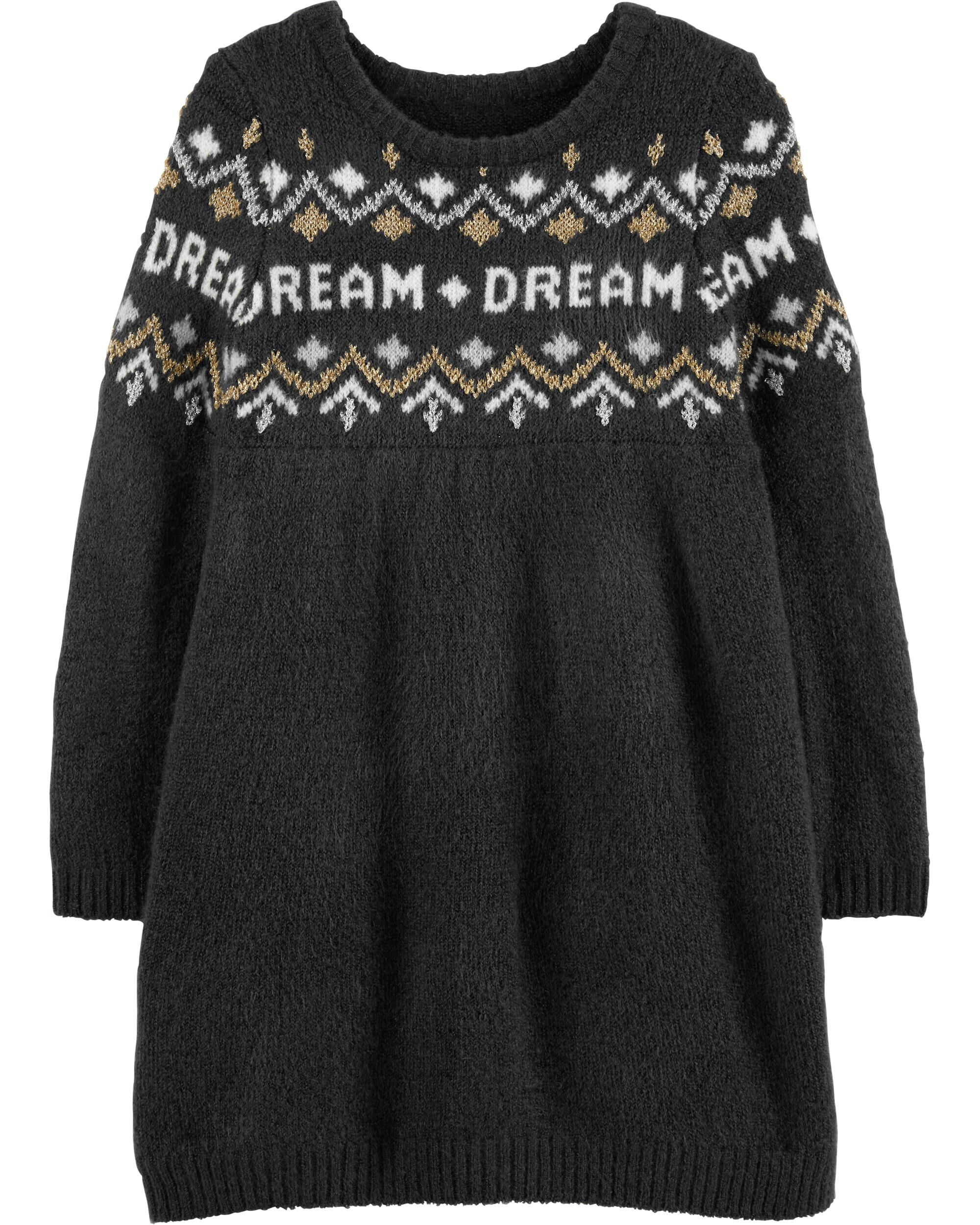 *Clearance*  Glitter Dream Sweater Dress