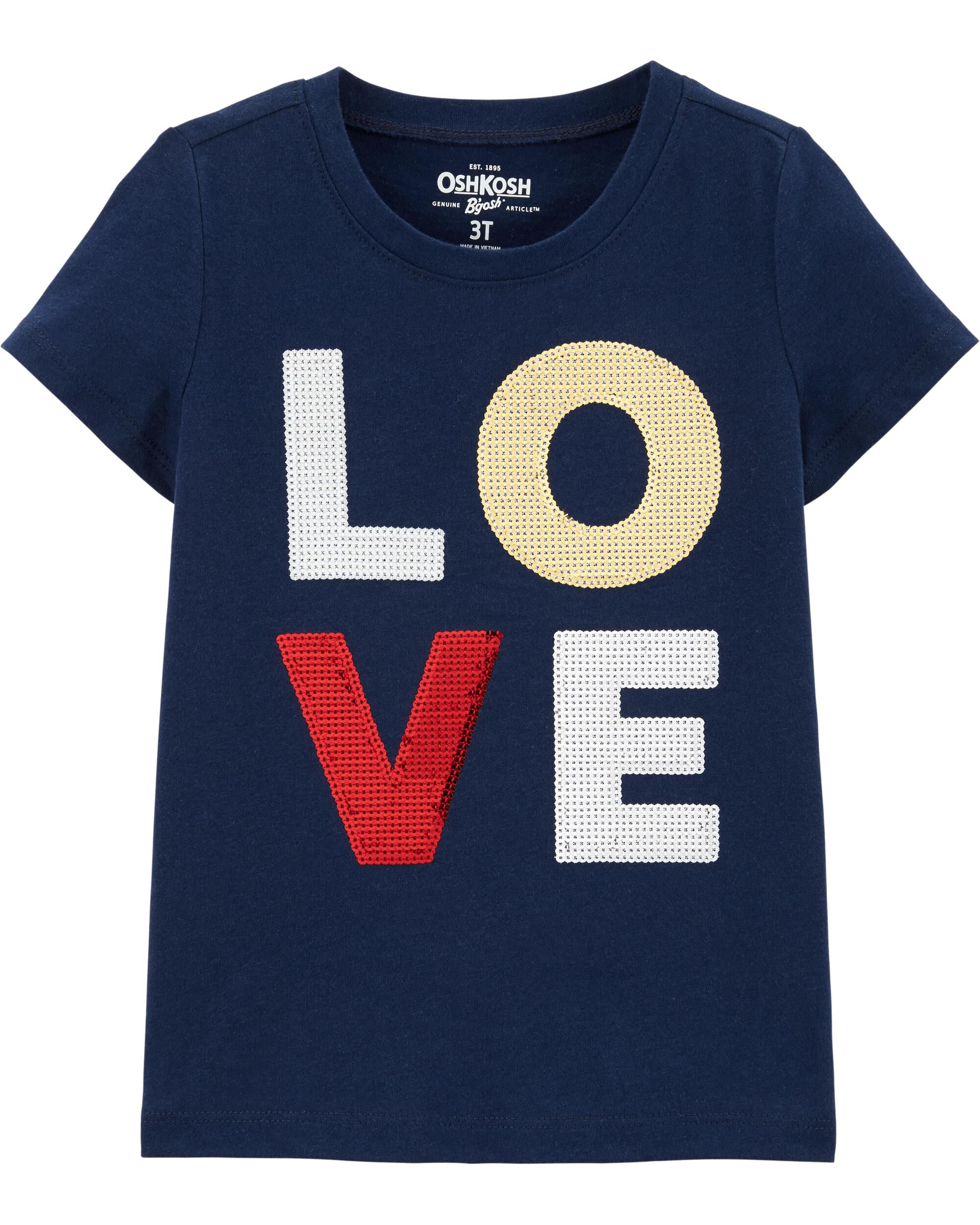 *Clearance*  Love Sequin Tee