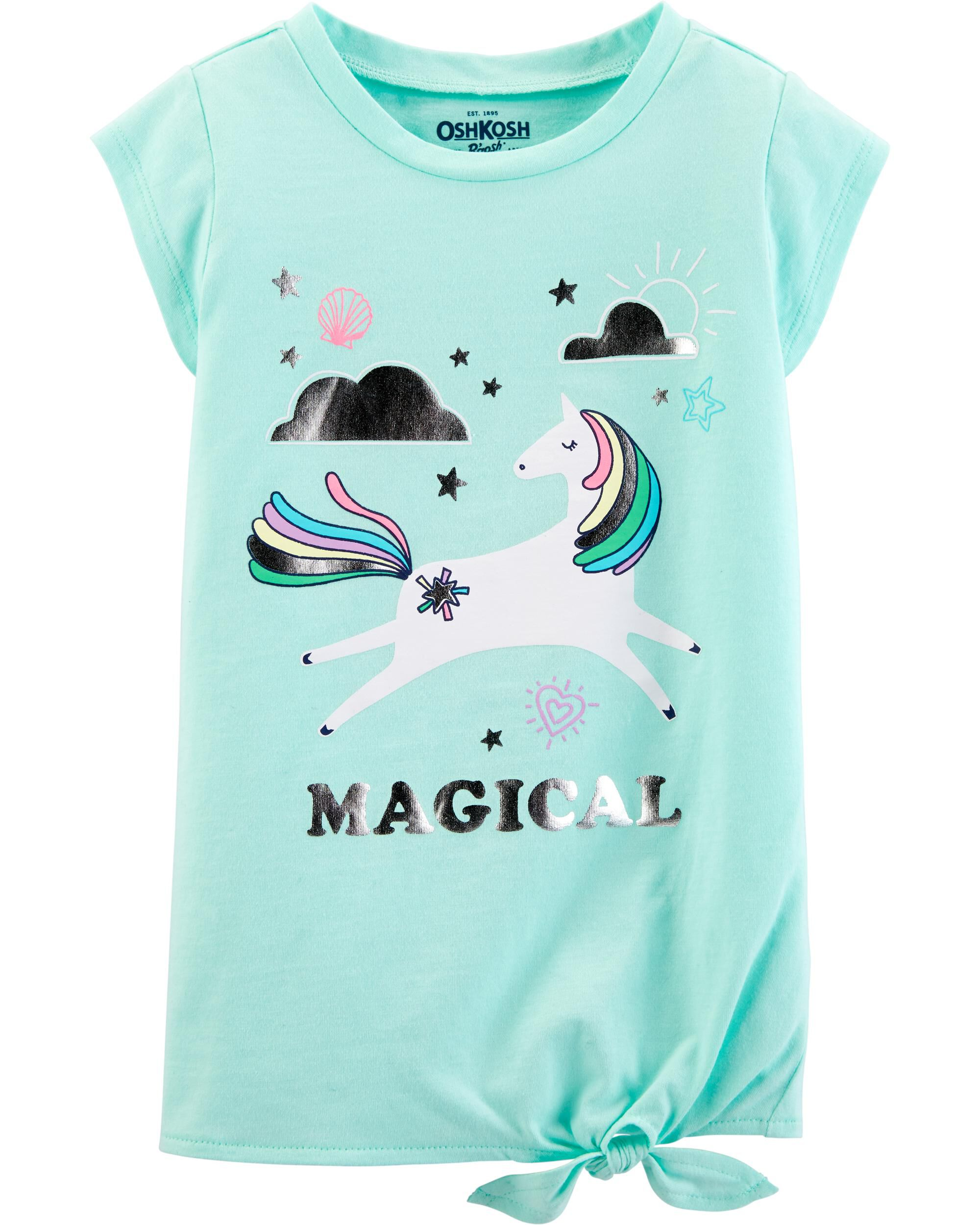 *Clearance*  Side-Tie Unicorn Tunic