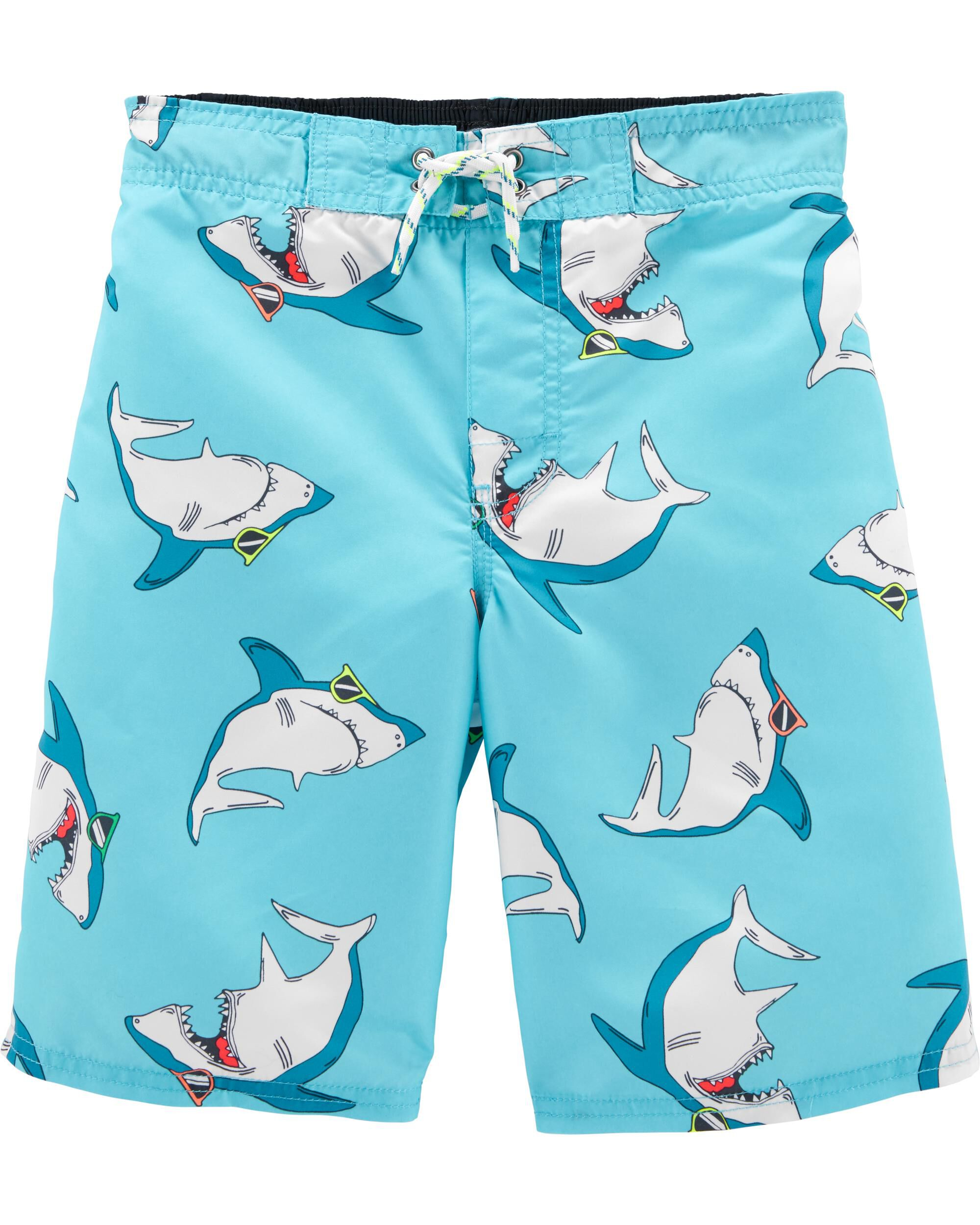 *Clearance*  OshKosh Shark Swim Trunks