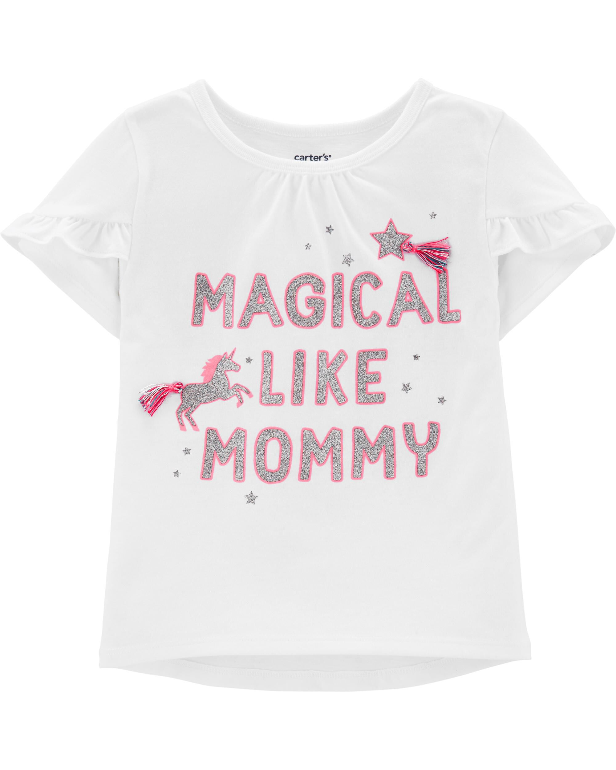 *Clearance*  Magical Unicorn Tulip-Sleeve Hi-Lo...