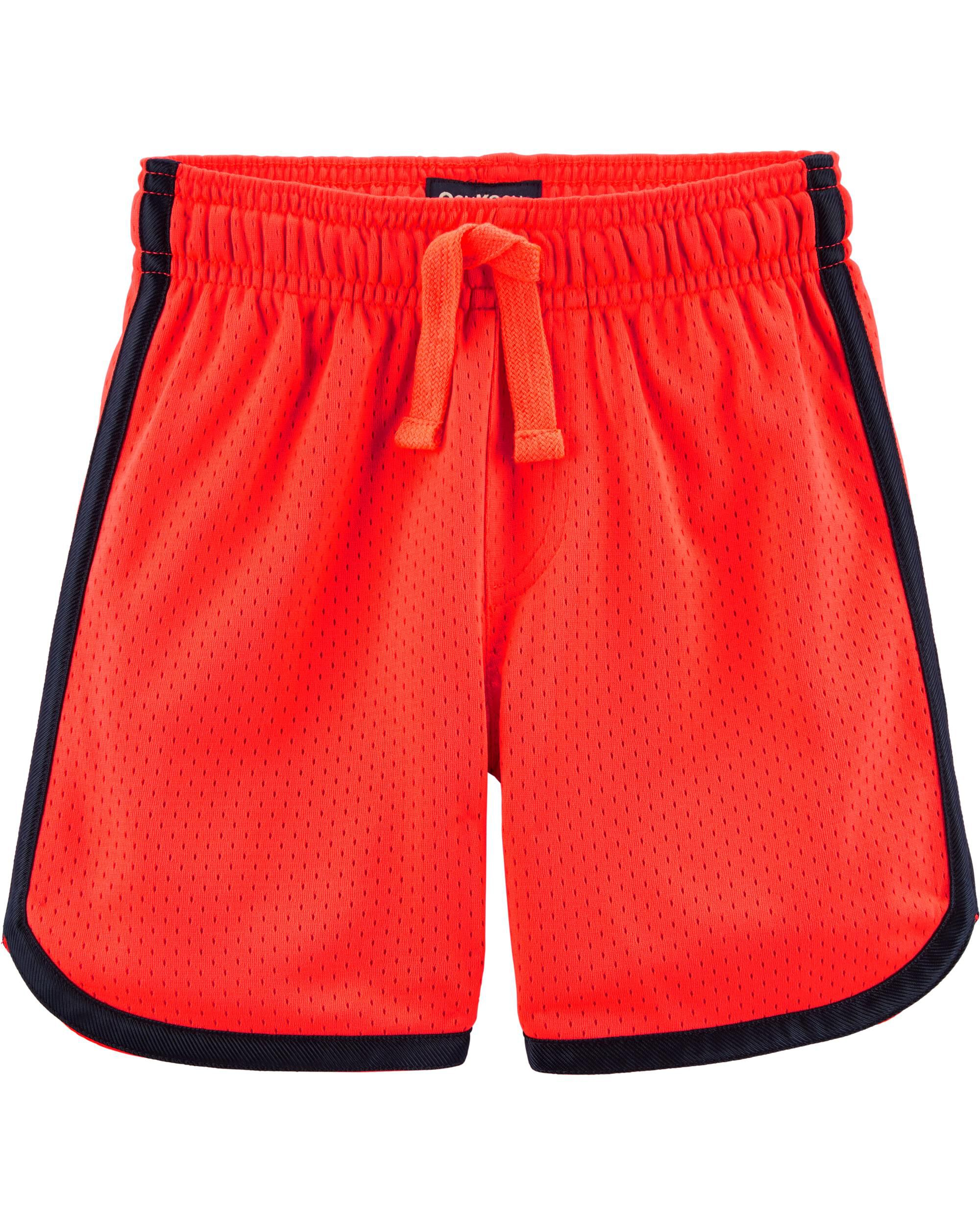 *Clearance*  Neon Mesh Basketball Shorts