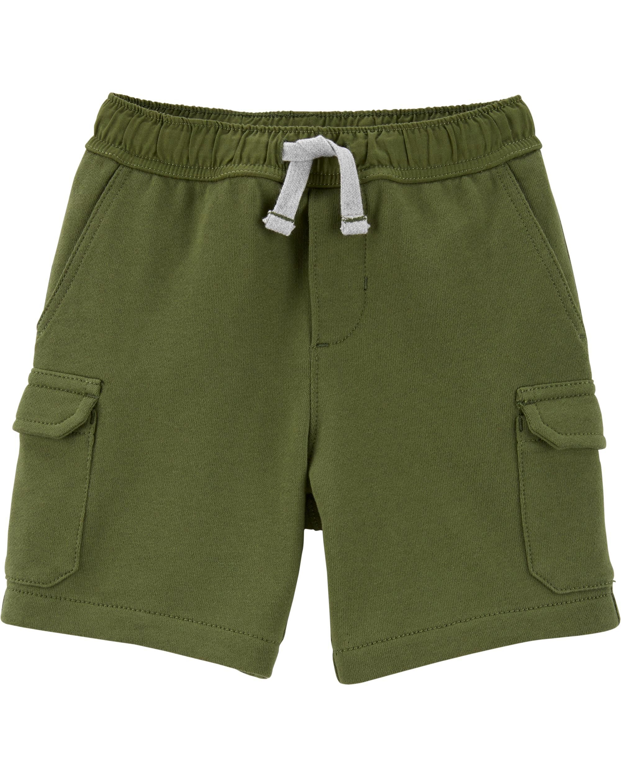 *Clearance*  Easy Pull-On Cargo Shorts