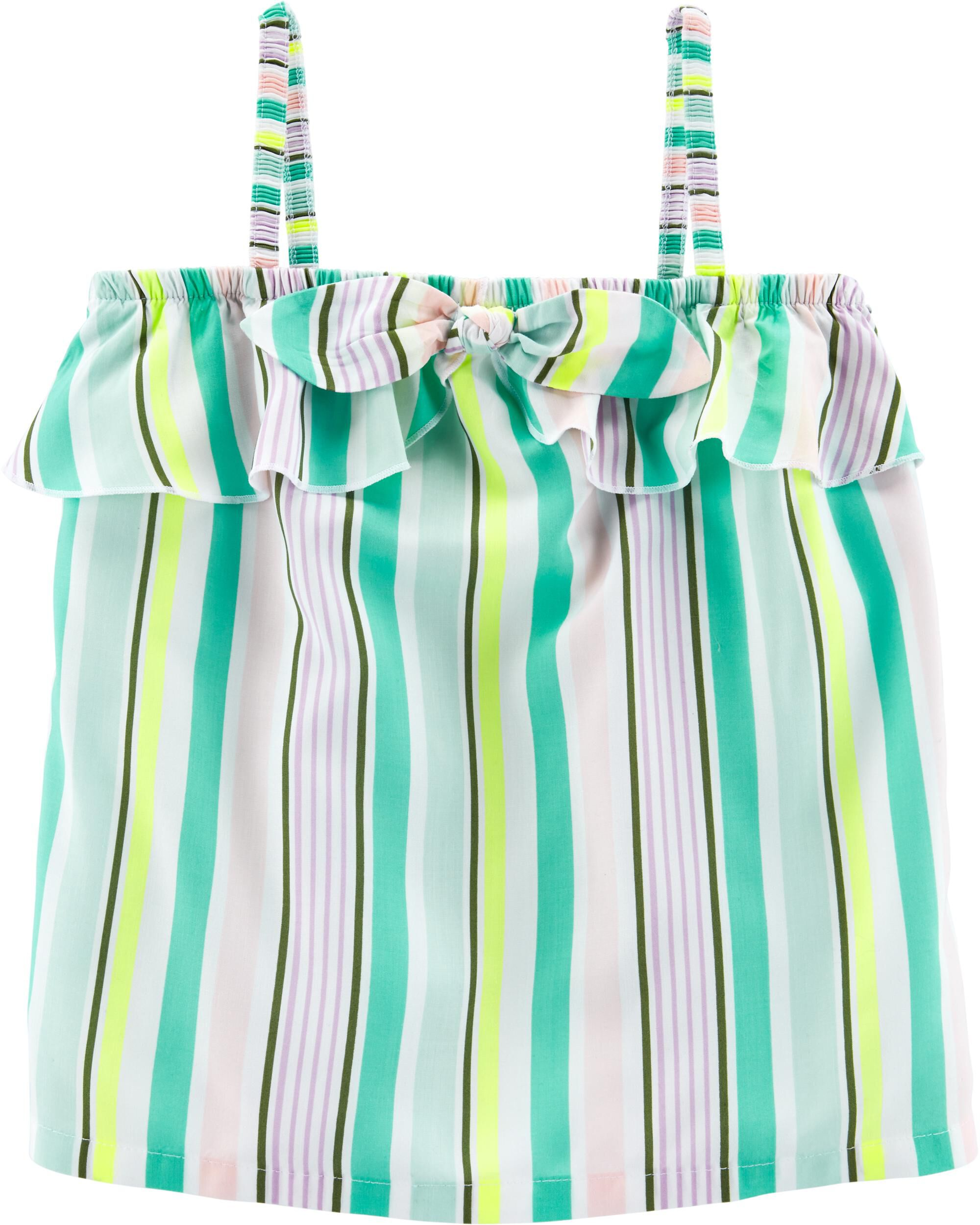 *Clearance*  Striped Tie Tank