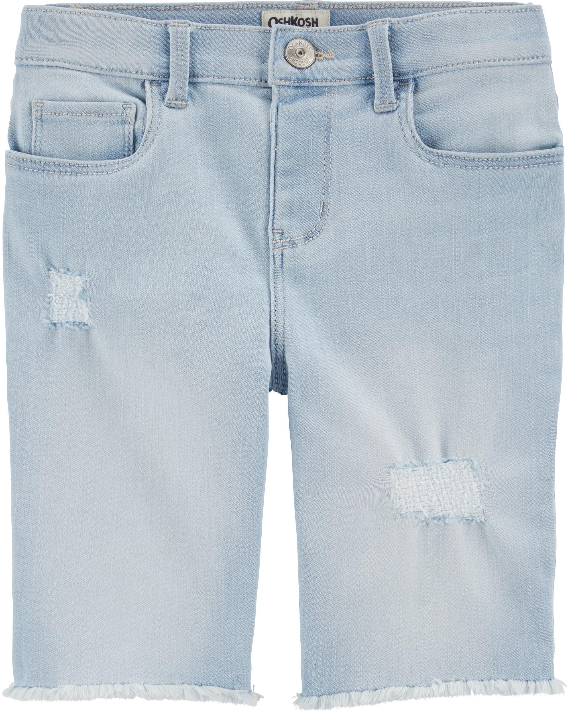 *Clearance*  Rip and Repair Denim Skimmer Shorts