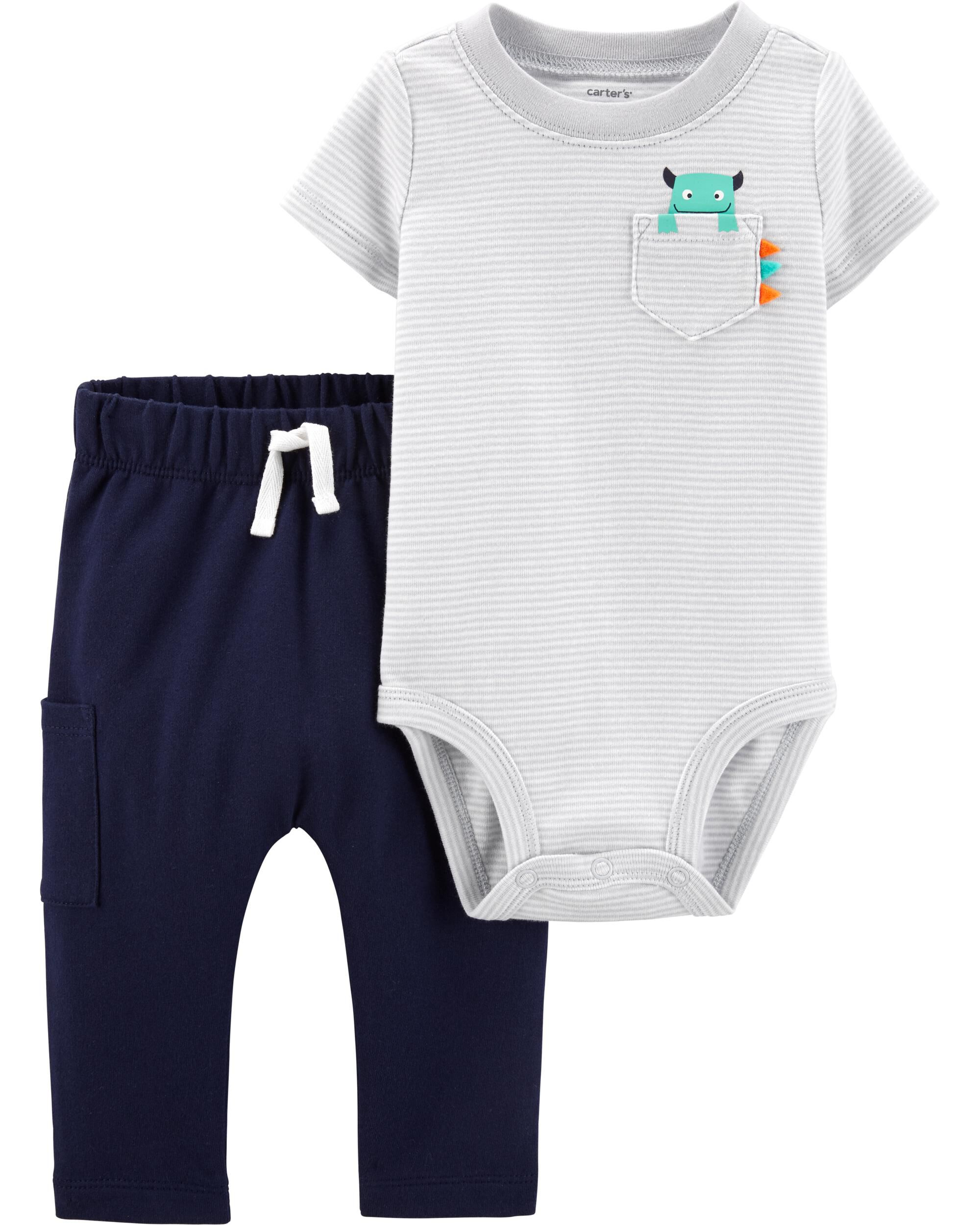 *Clearance*  2-Piece Monster Bodysuit Pant Set
