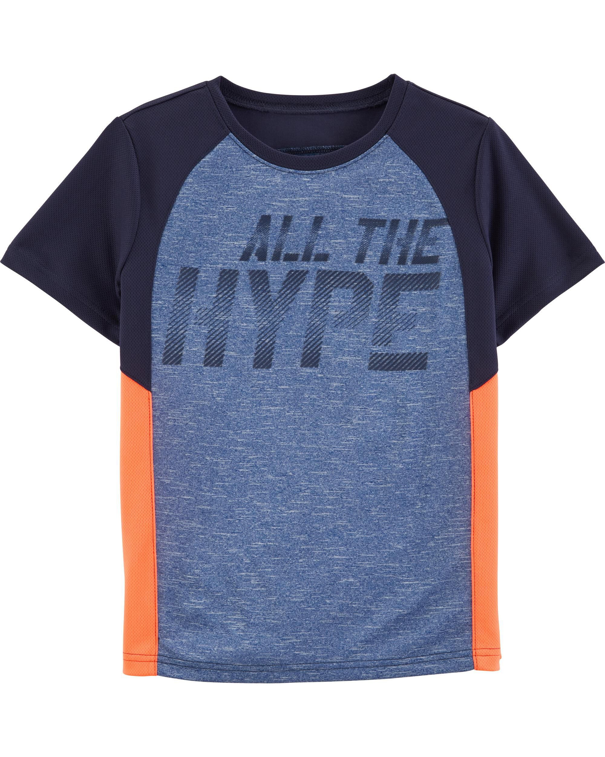 *Clearance*  All The Hype Active Tee