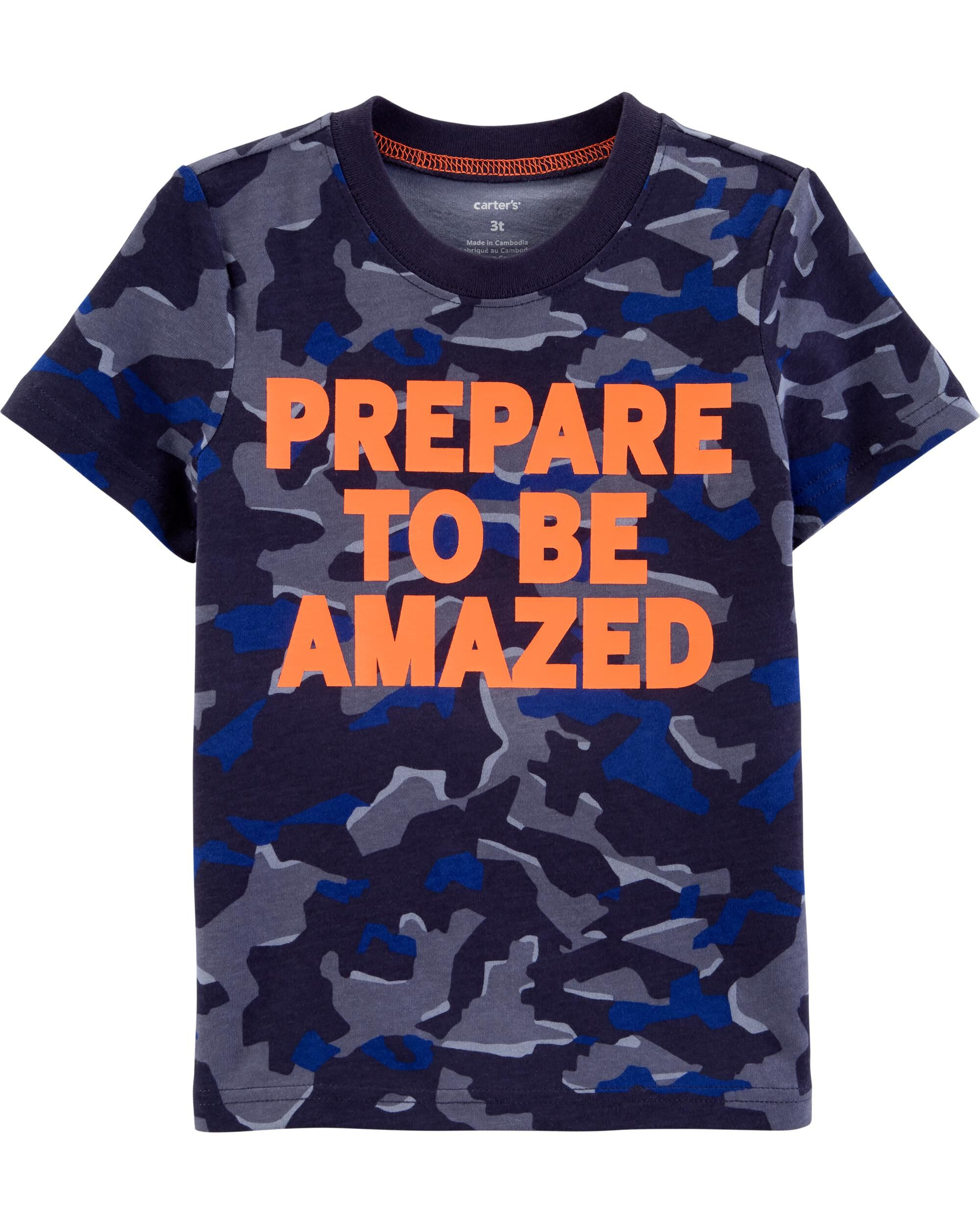 *Clearance*  Prepared To Be Amazed Active Tee