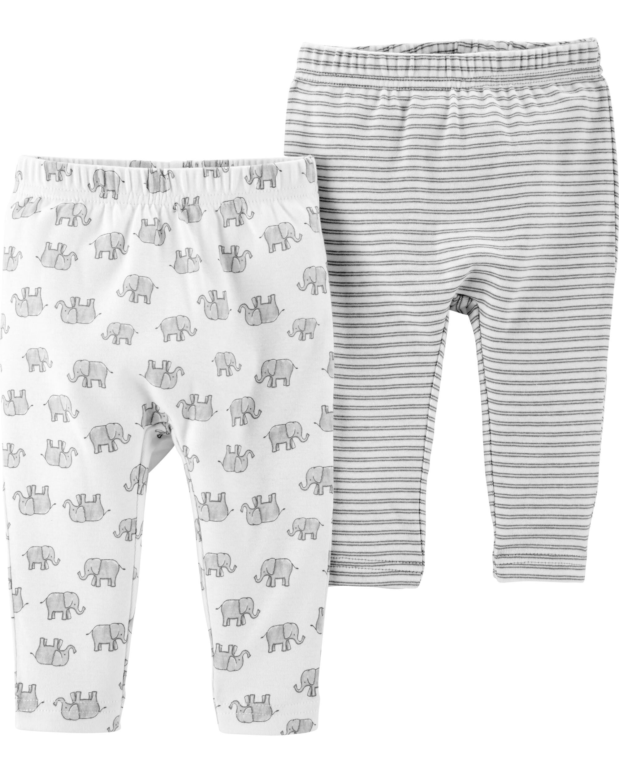 *Clearance*  2-Pack Certified Organic Pants