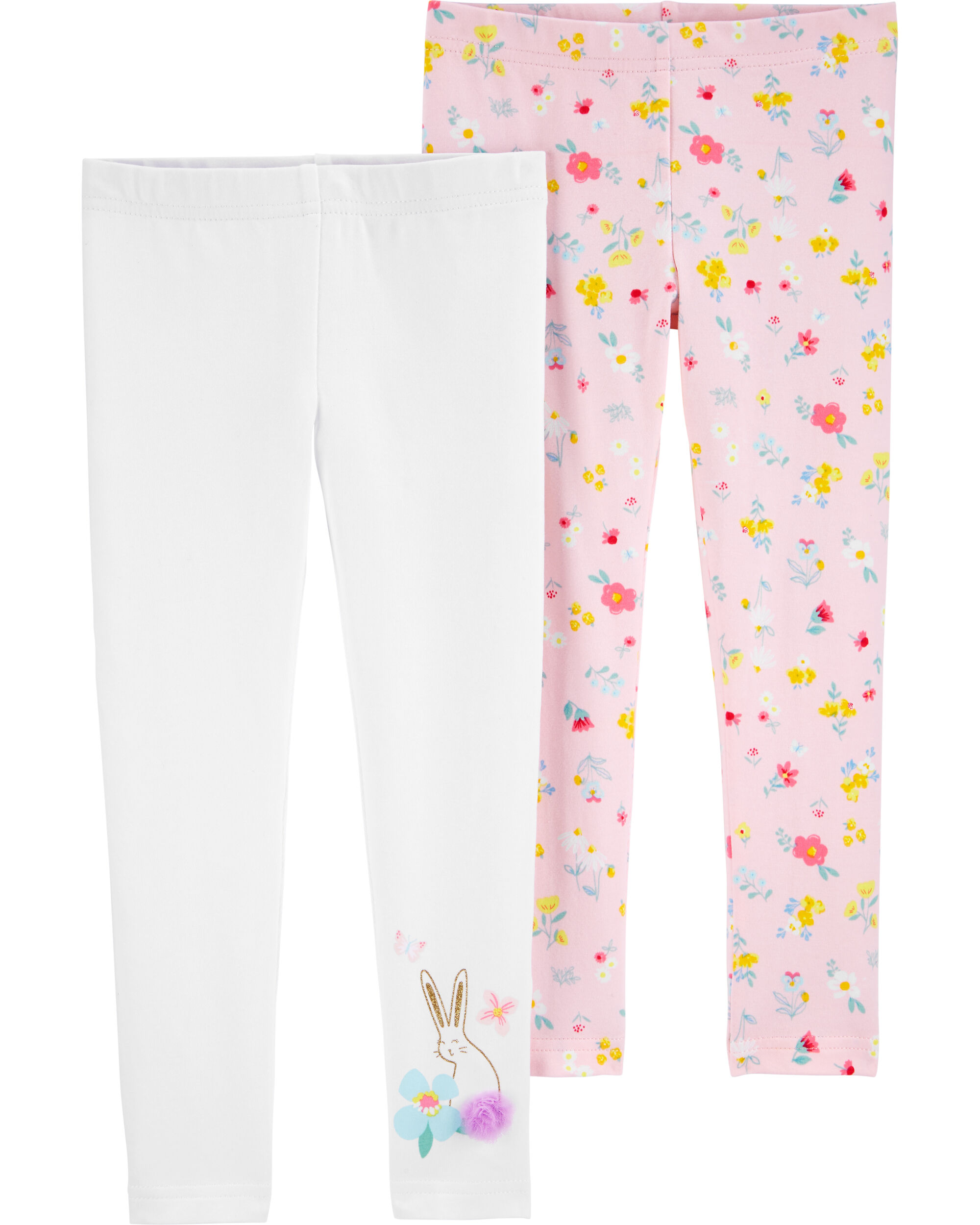 2-Pack Floral Leggings