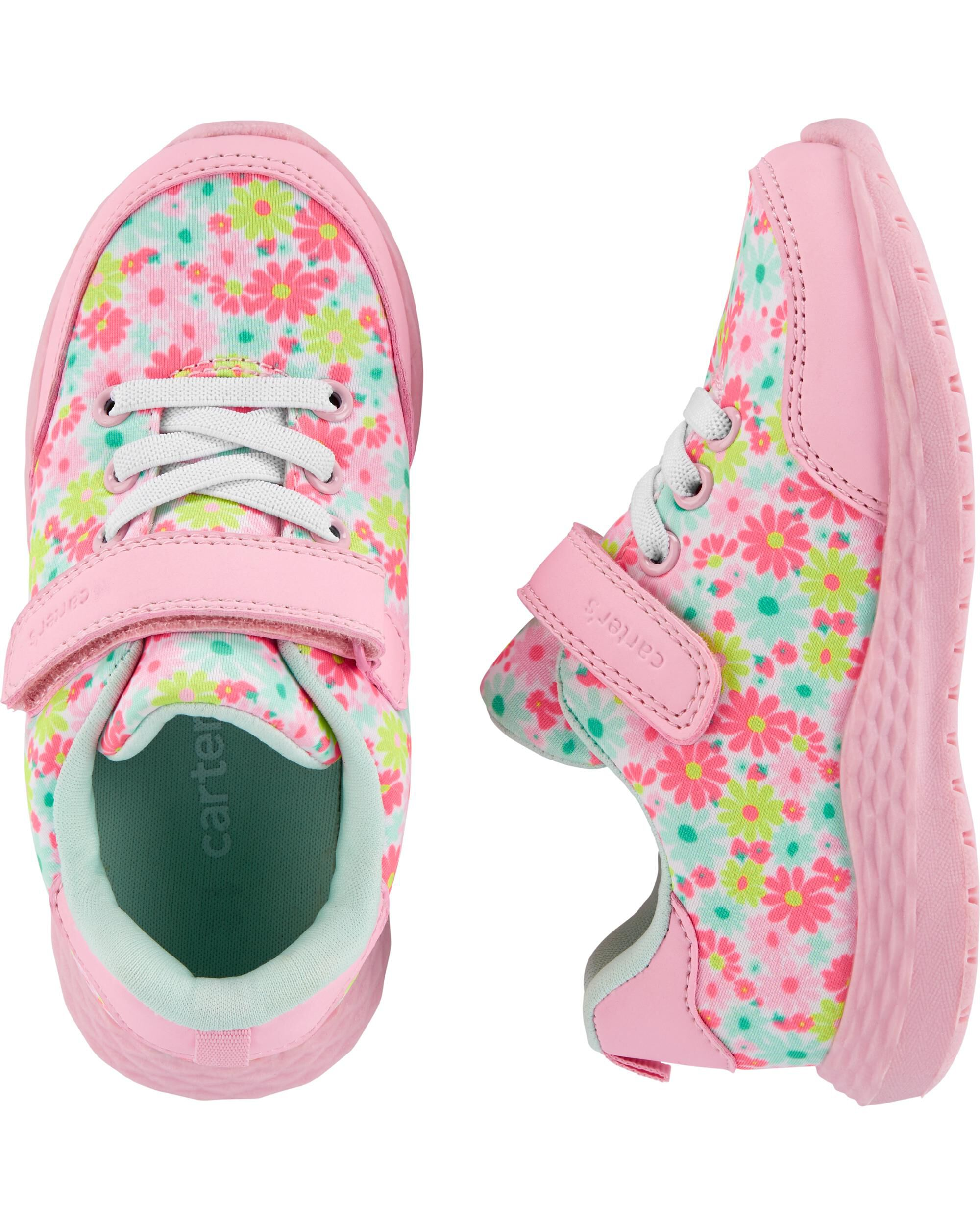 Carter's Floral Athletic Sneakers