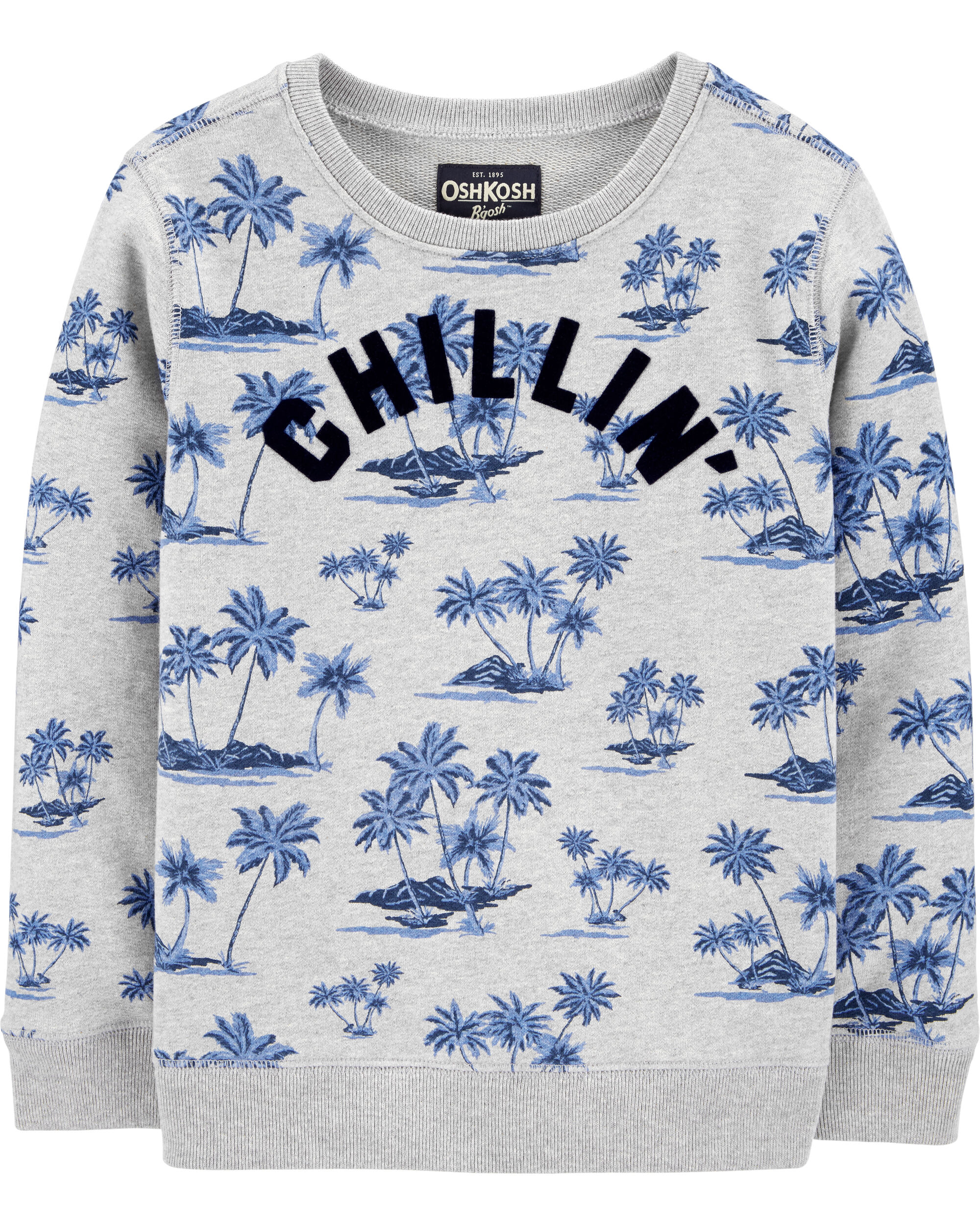 Crew Neck Chillin' Sweatshirt