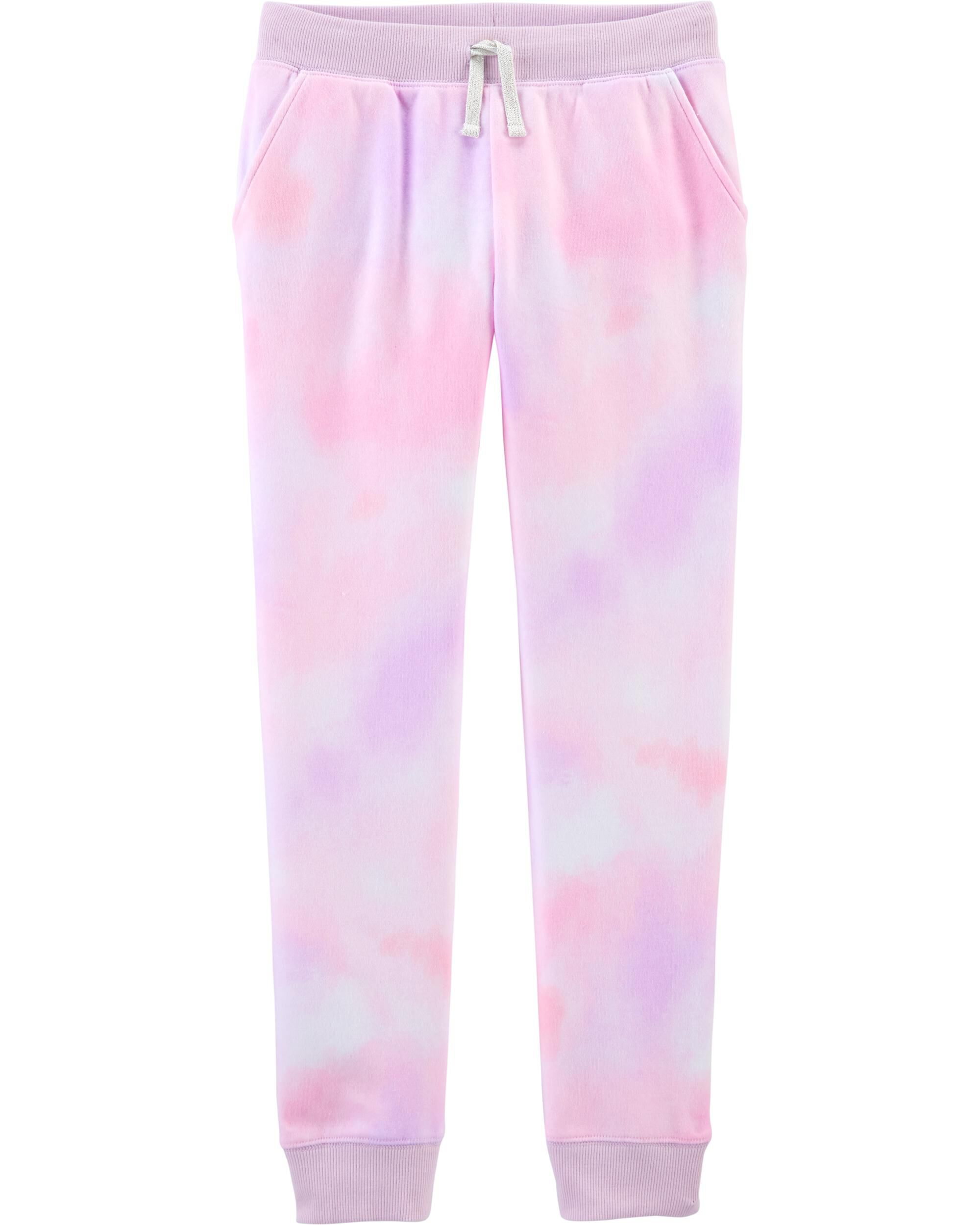 Tie-Dye Fleece Pants