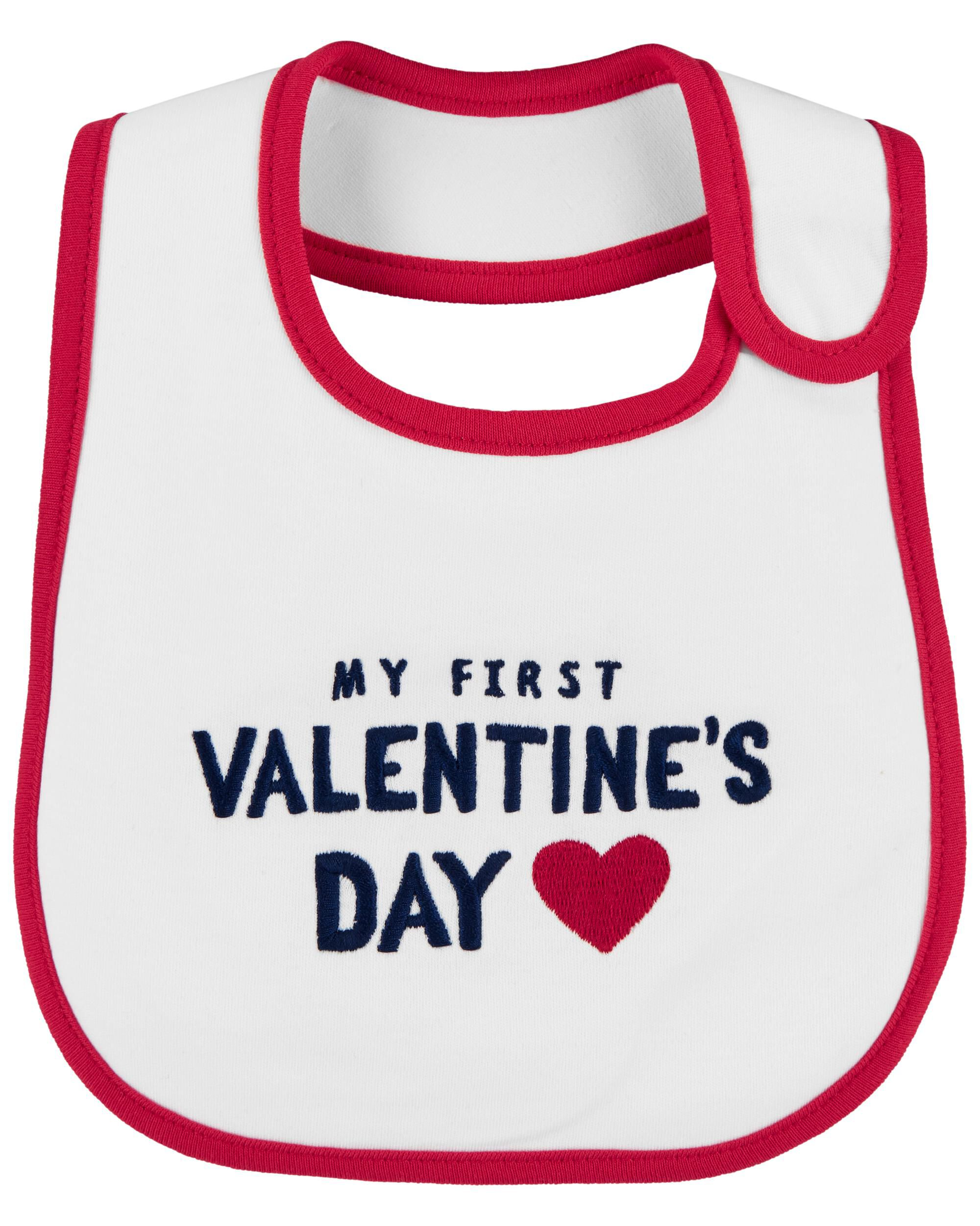 Oshkoshbgosh My First Valentines Day Teething Bib
