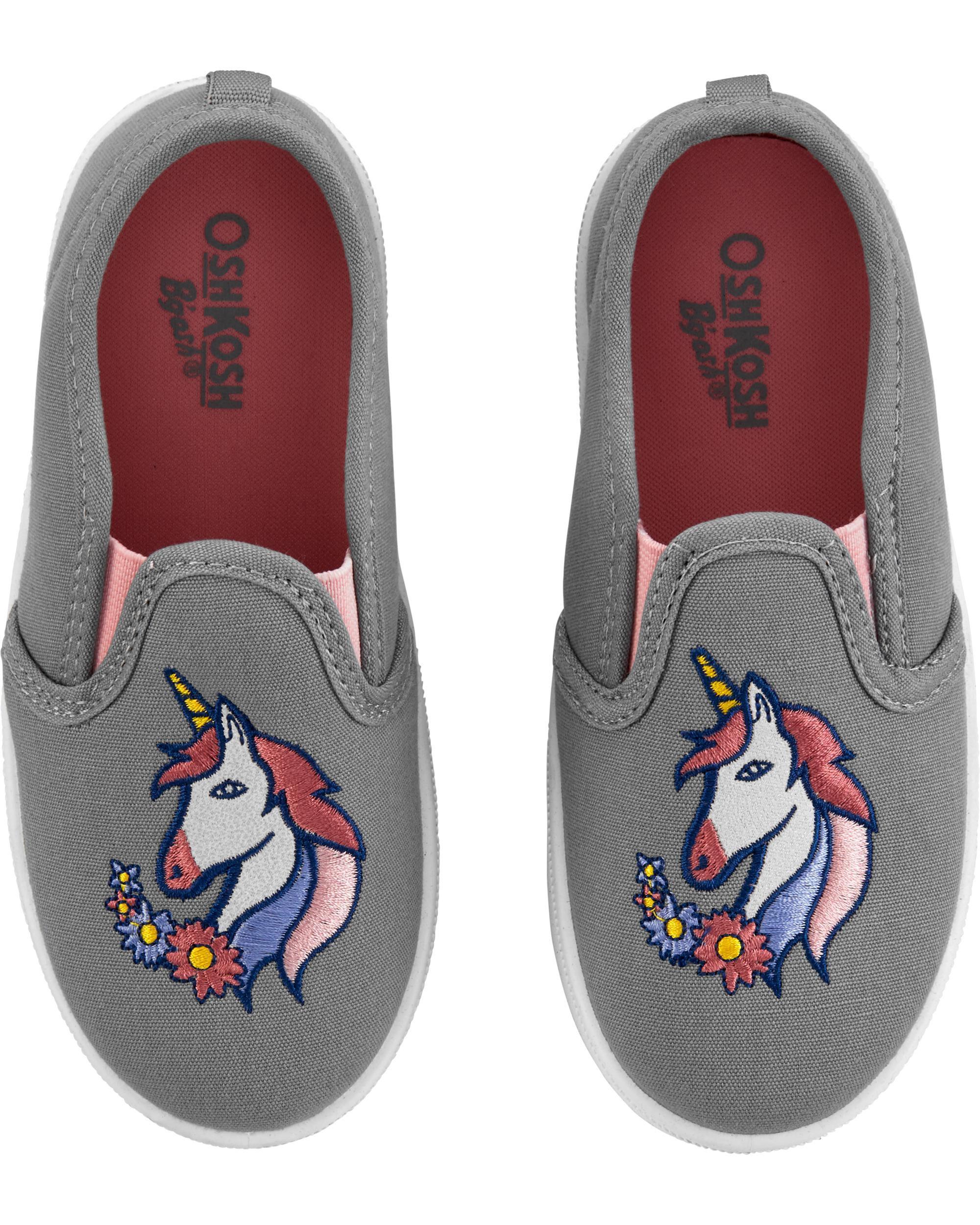 Oshkoshbgosh Unicorn Slip-Ons