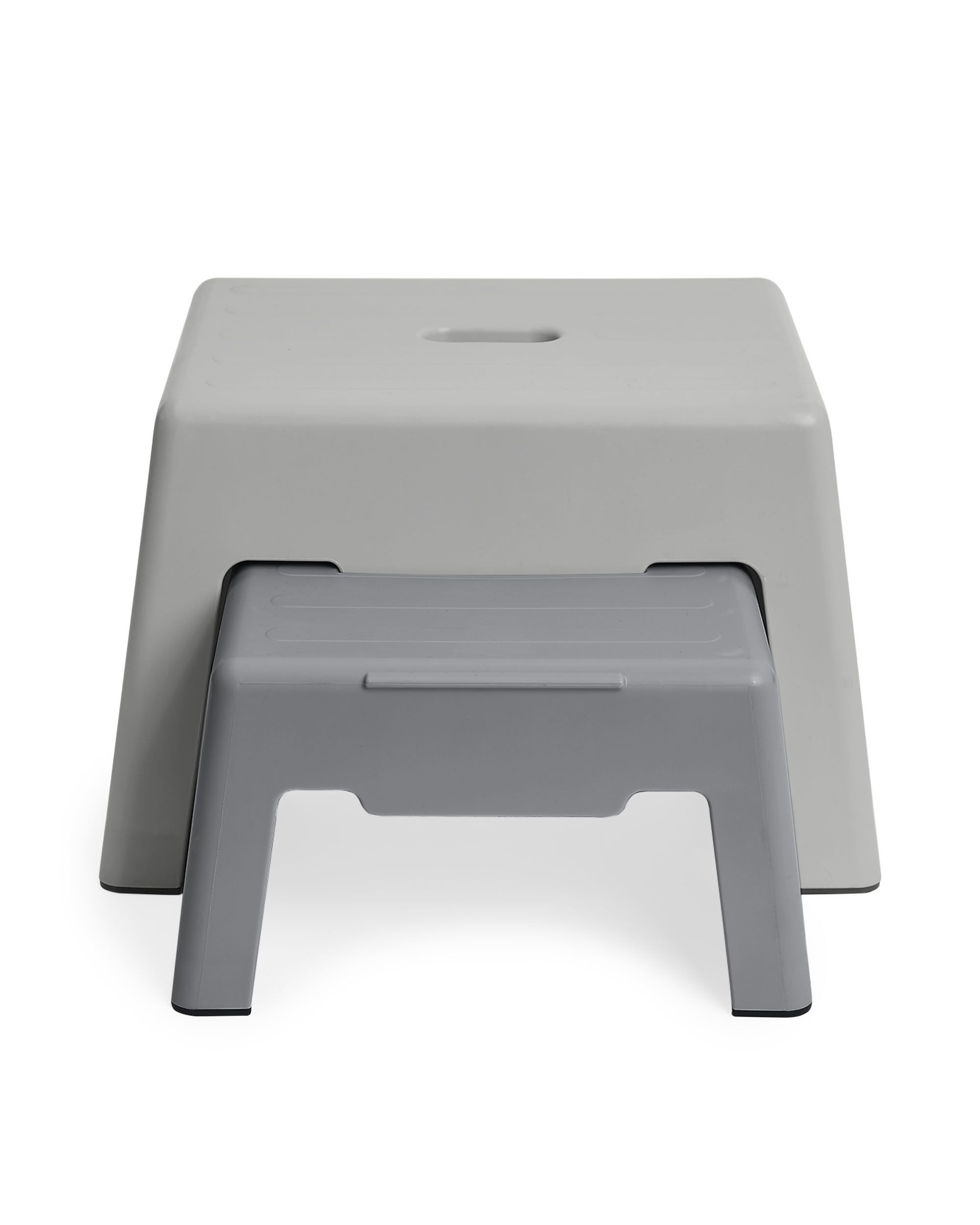 Oshkoshbgosh Double-Up Step Stool - Grey
