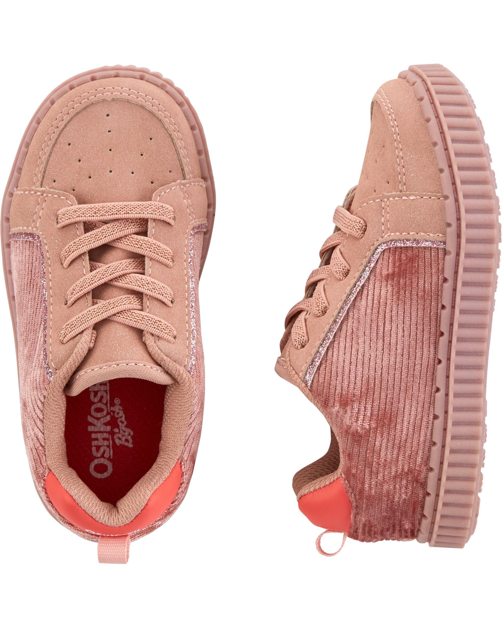 Oshkoshbgosh Pink Corduroy Sneakers