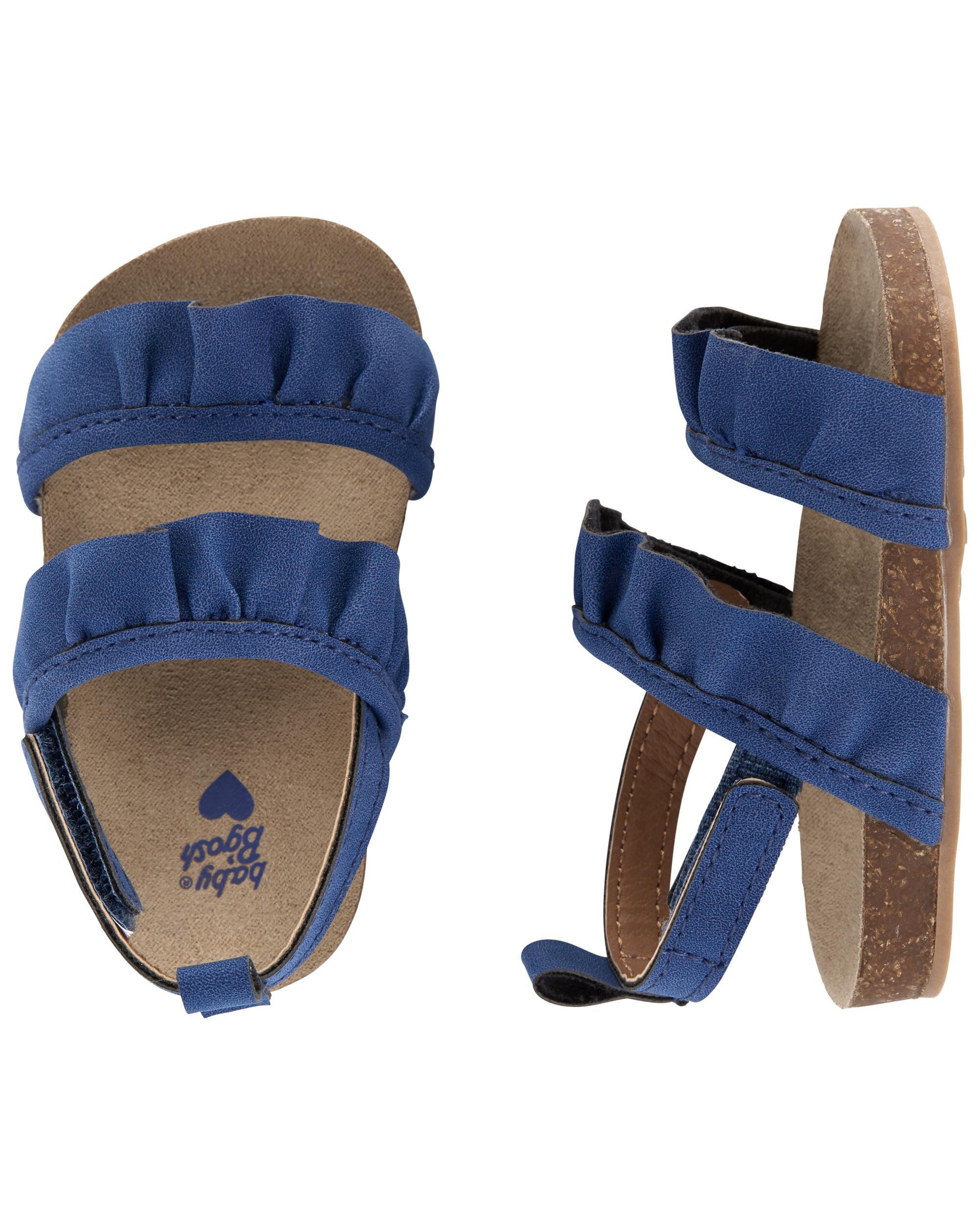 Oshkoshbgosh Ruffle Baby Sandals