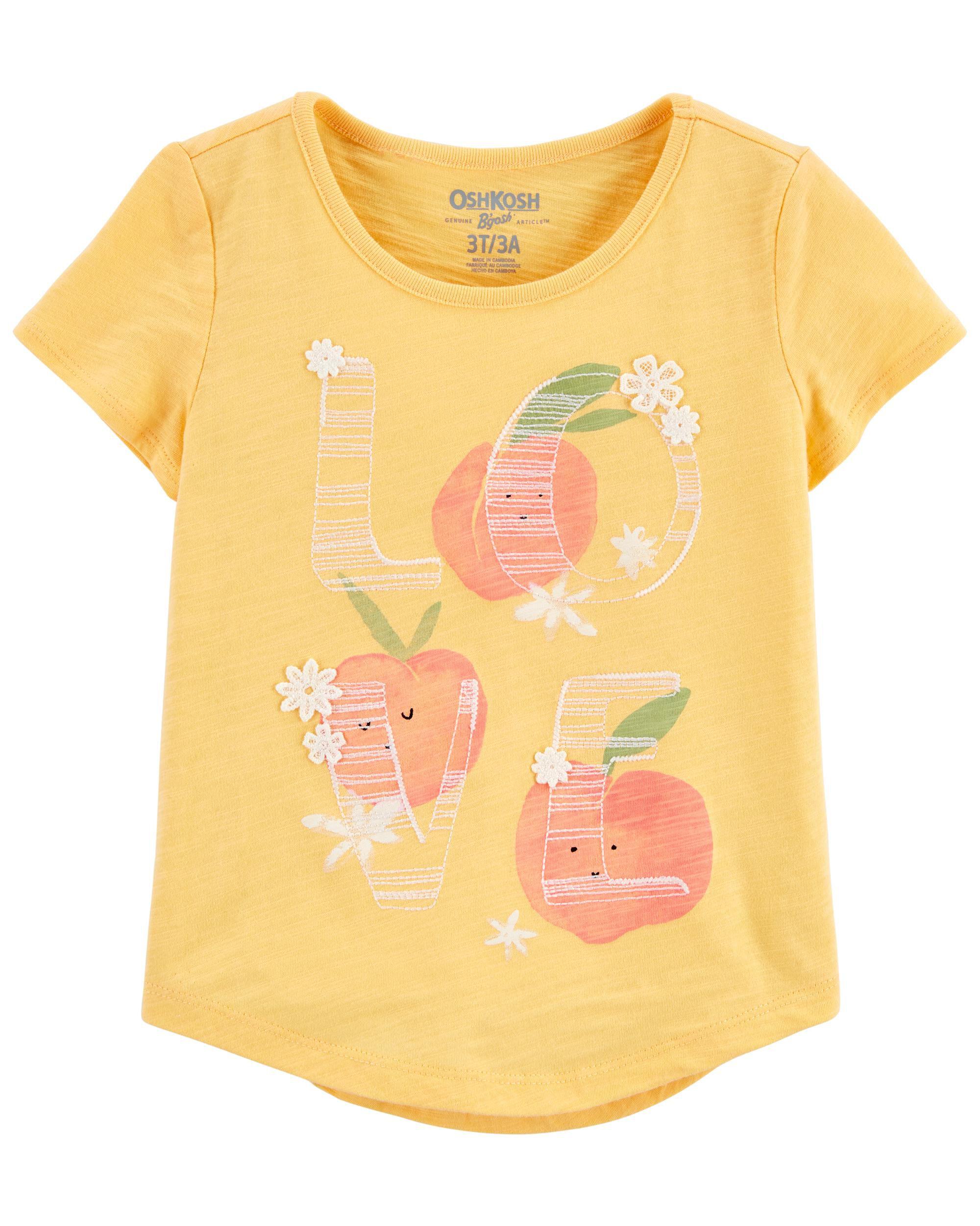 Oshkoshbgosh Peachy Love Tee