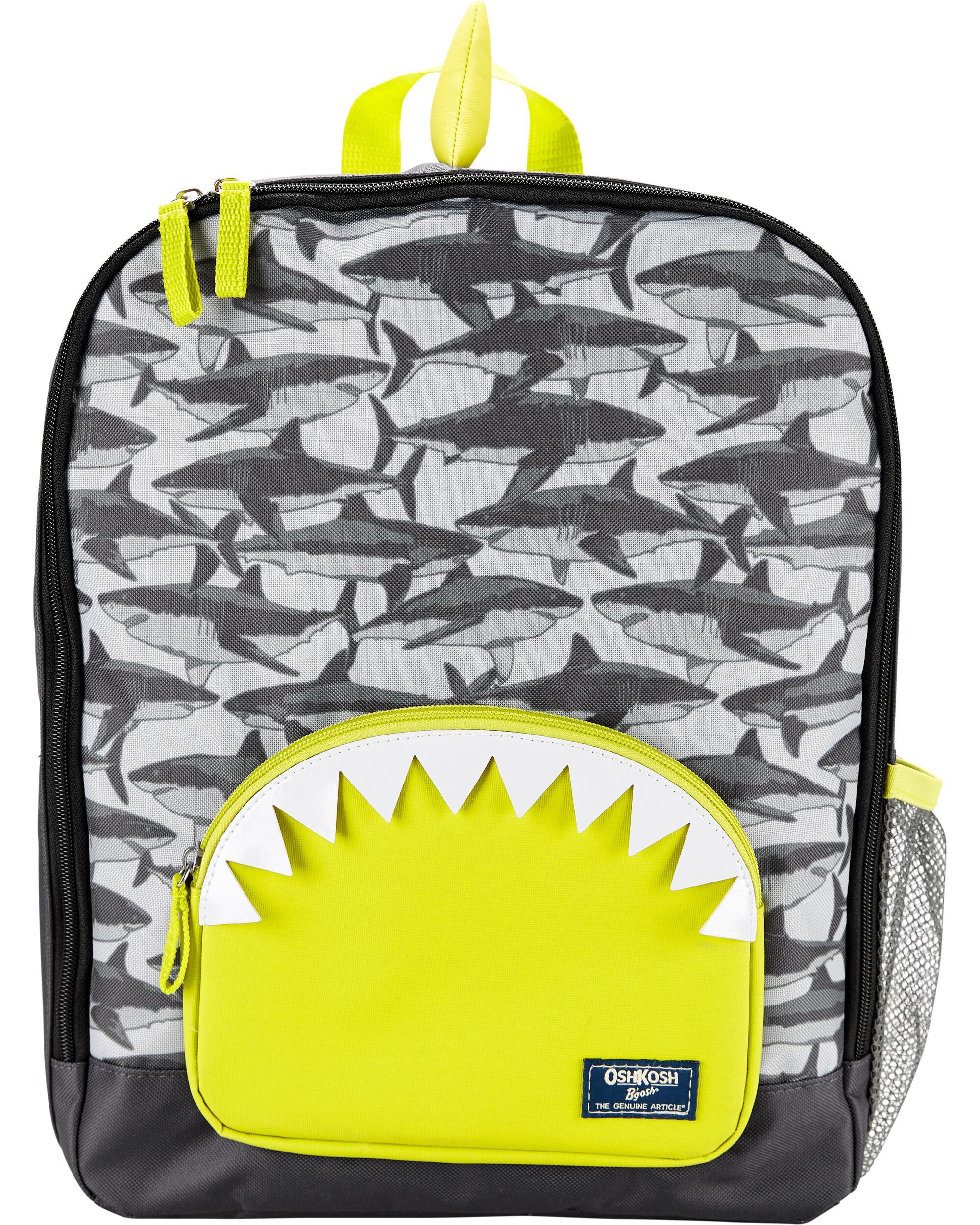 Oshkoshbgosh Shark Teeth Backpack