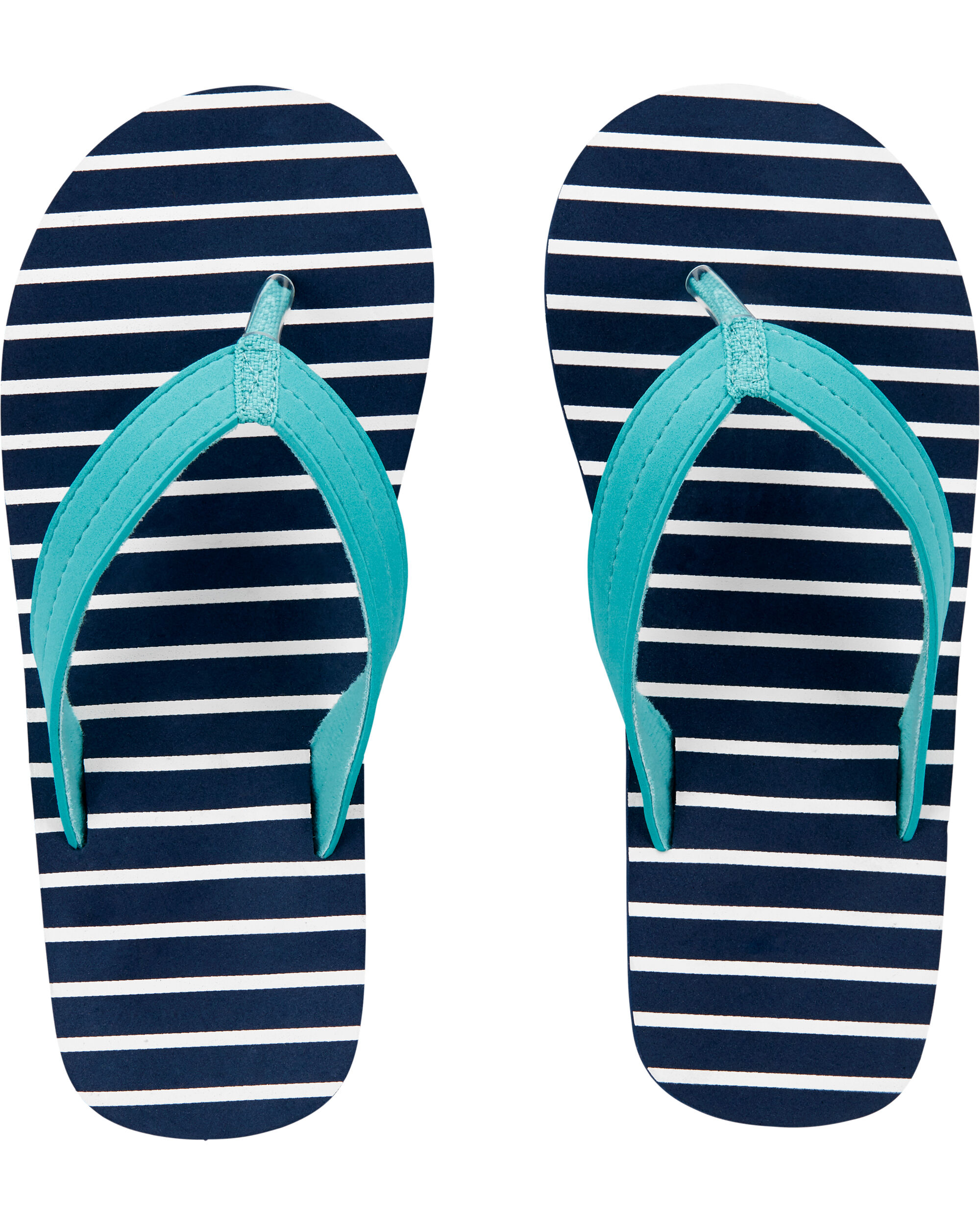 Oshkoshbgosh Carters Striped Flip Flops