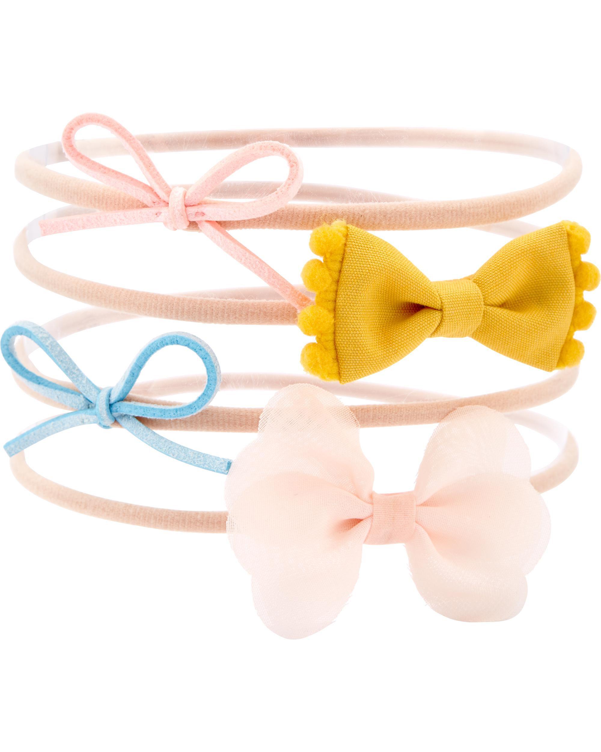 Oshkoshbgosh 4-Pack Bow Headwrap