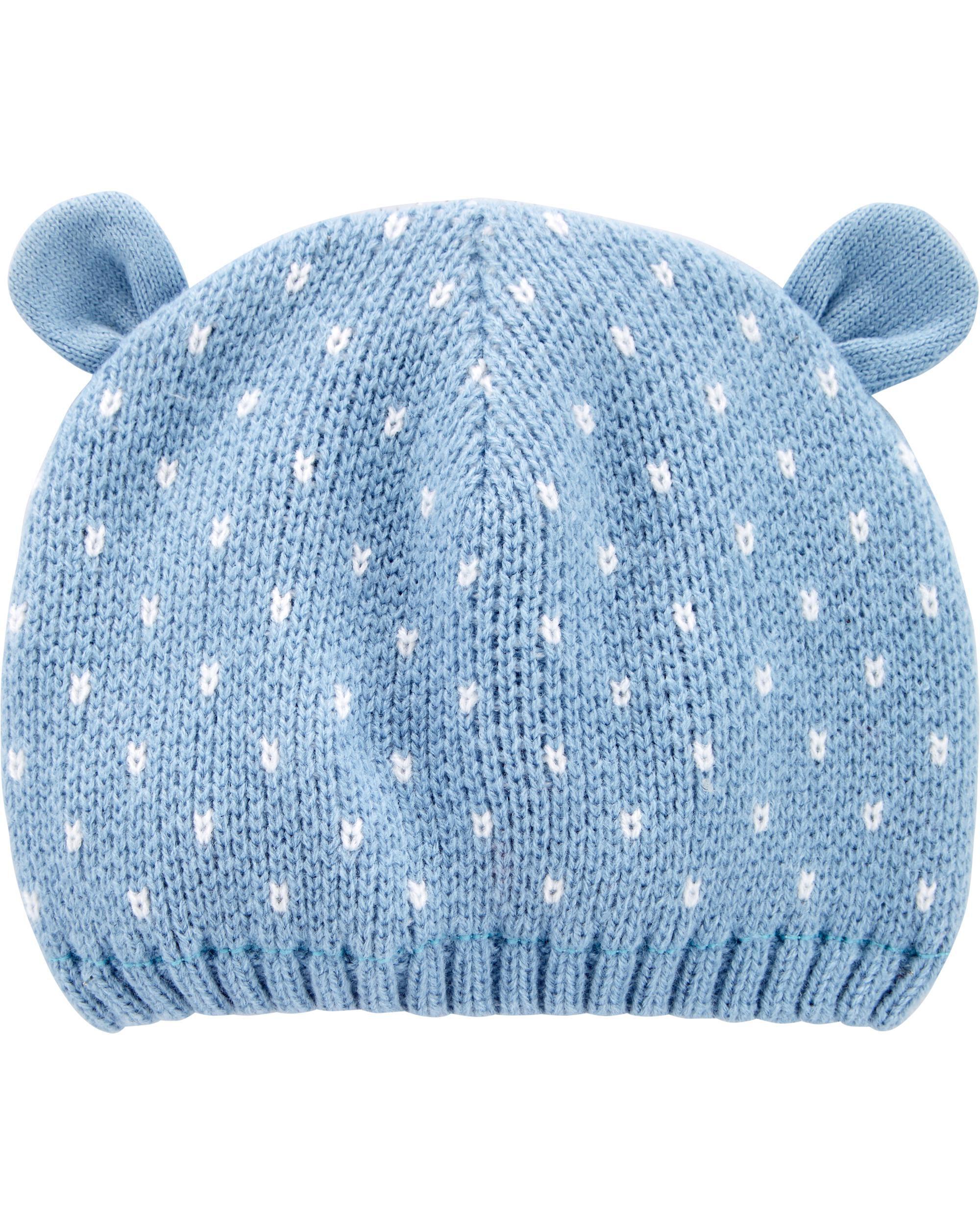 Oshkoshbgosh Knit Bear Cap