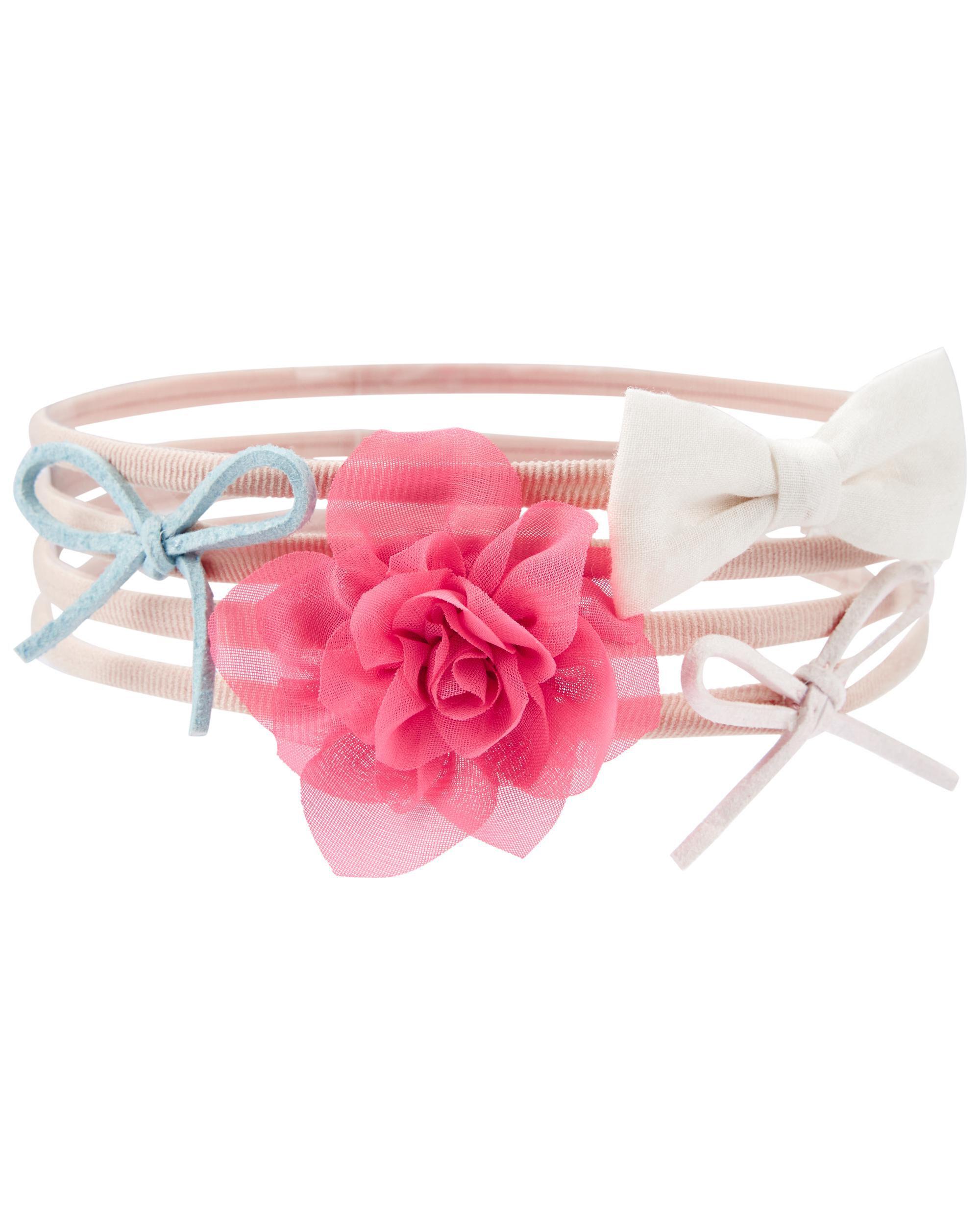 Oshkoshbgosh 4-Pack Baby Headwrap