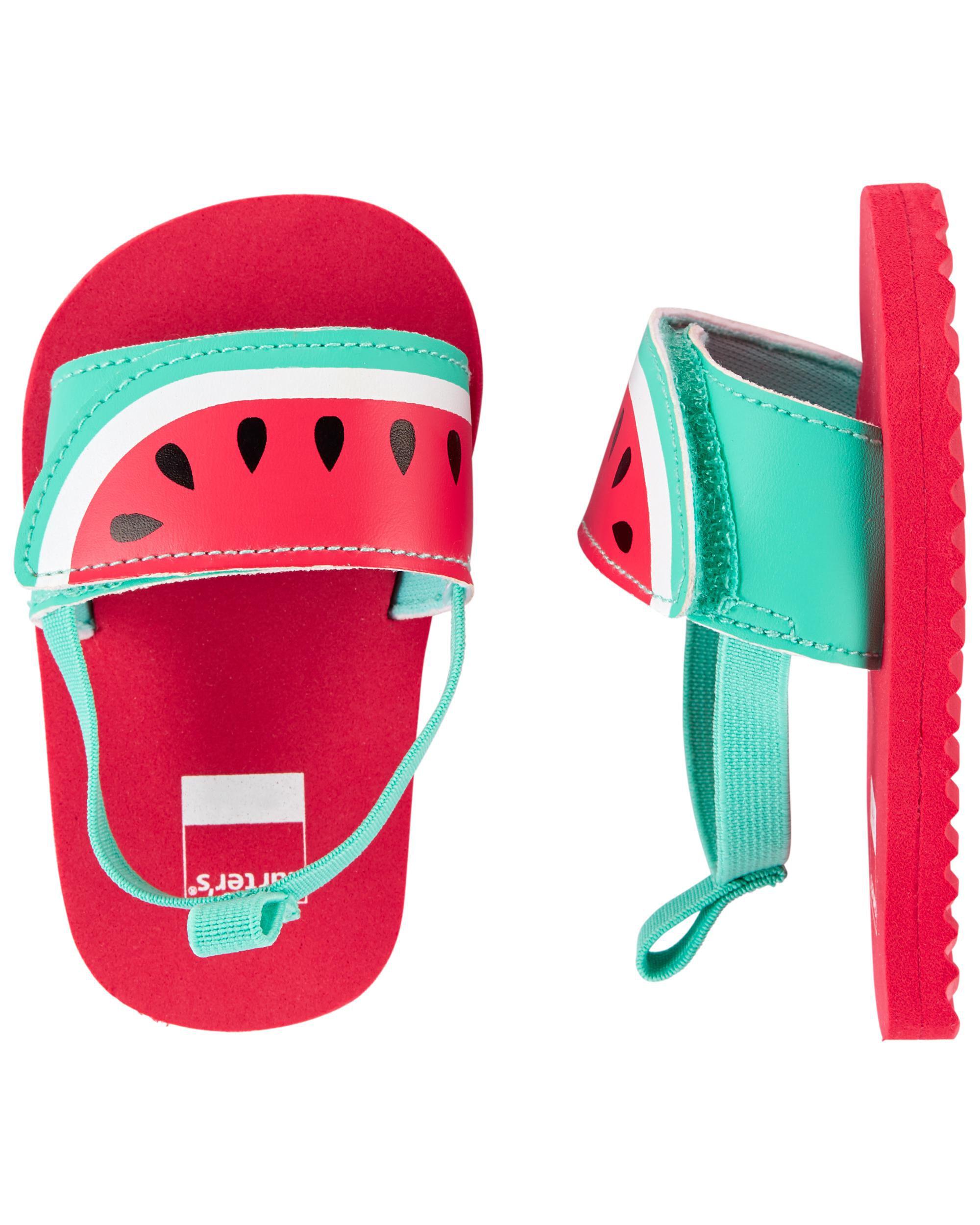 Oshkoshbgosh Carters Watermelon Slides Baby Shoes