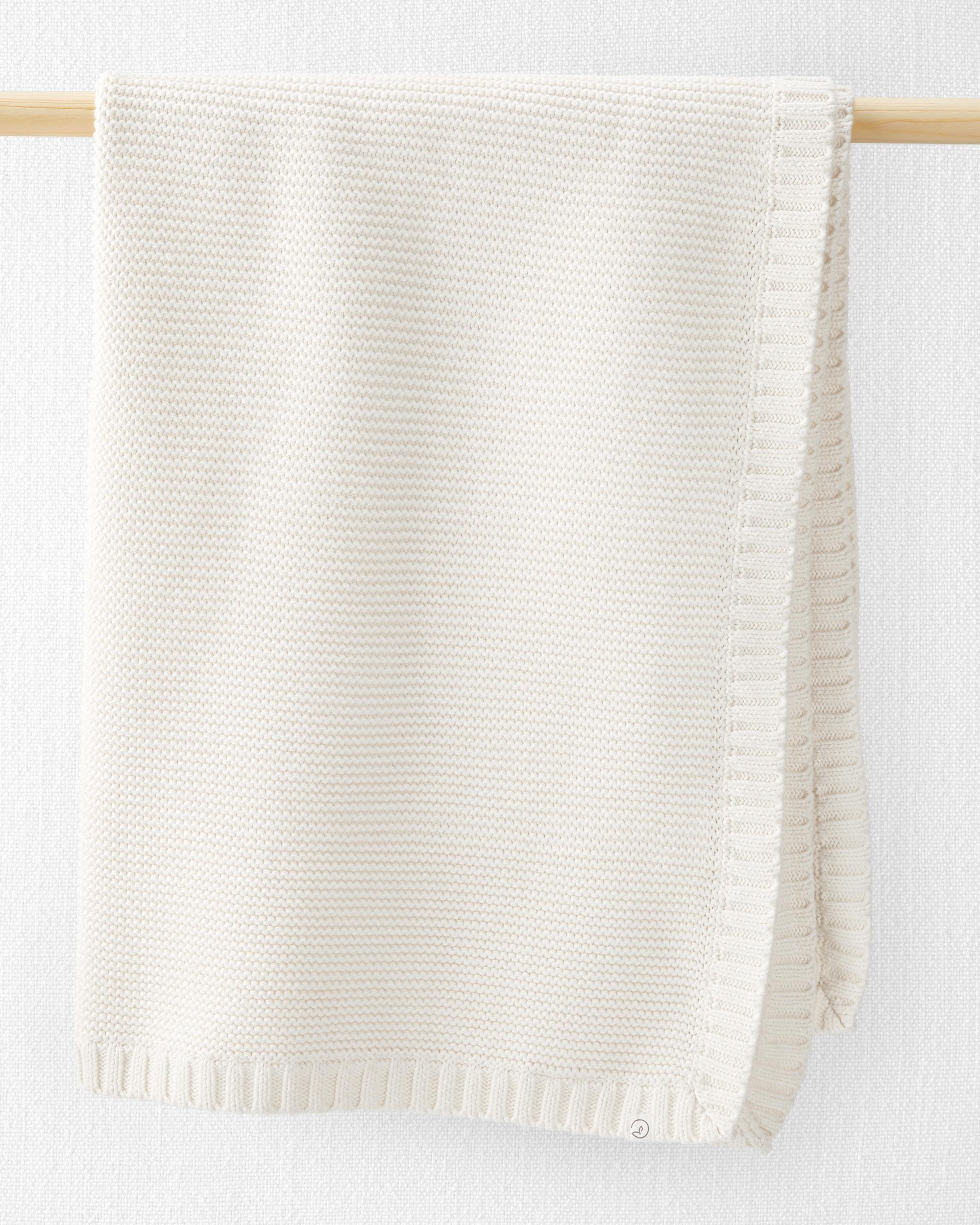 Oshkoshbgosh Organic Seed Stitch Blanket