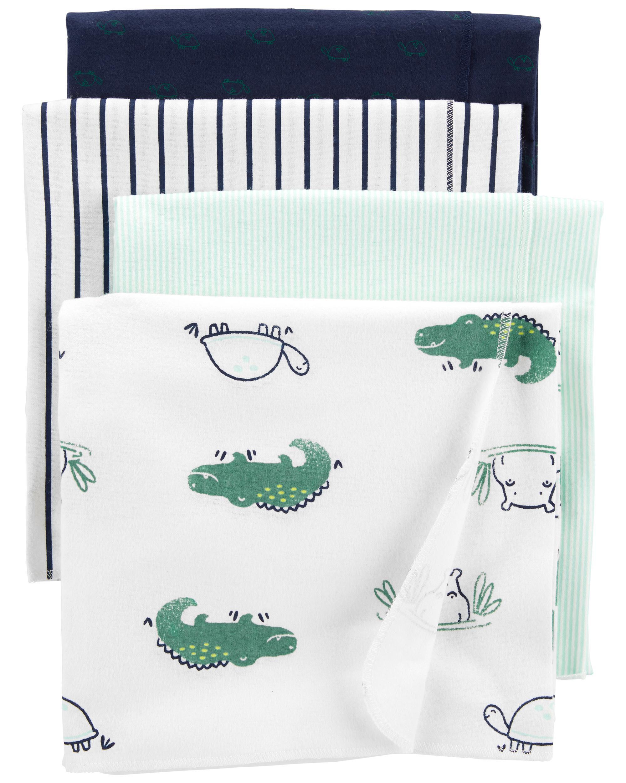 Oshkoshbgosh 4-Pack Receiving Blankets