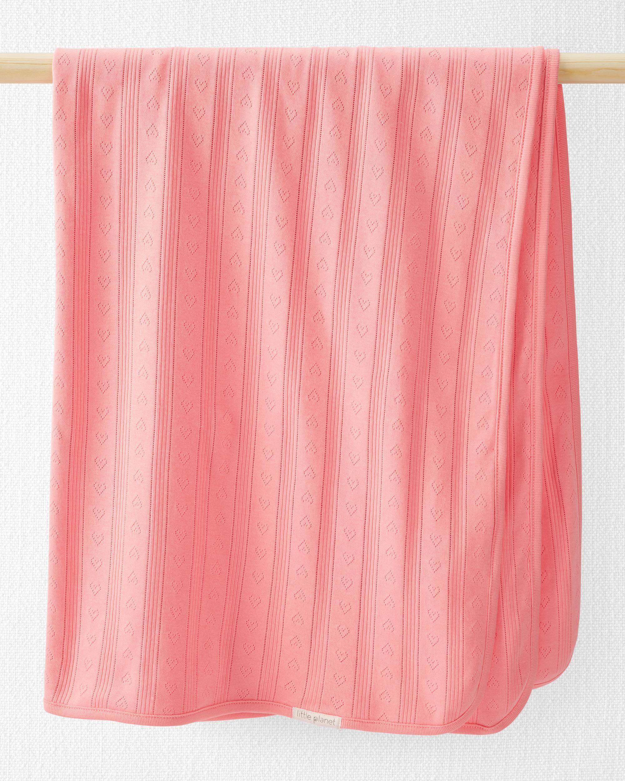 Oshkoshbgosh Organic Cotton Pointelle Blanket