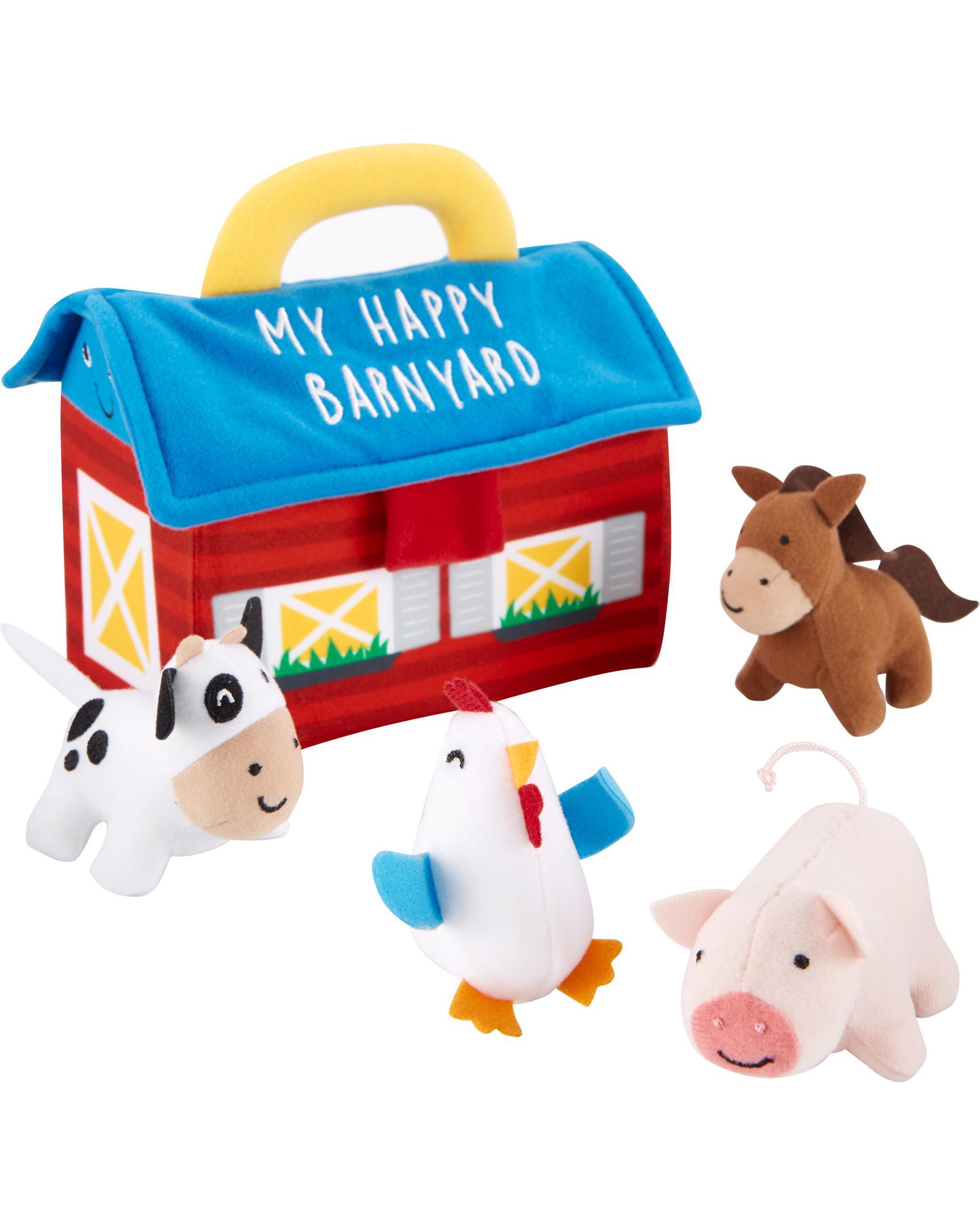 Oshkoshbgosh Plush Barn Activity Set