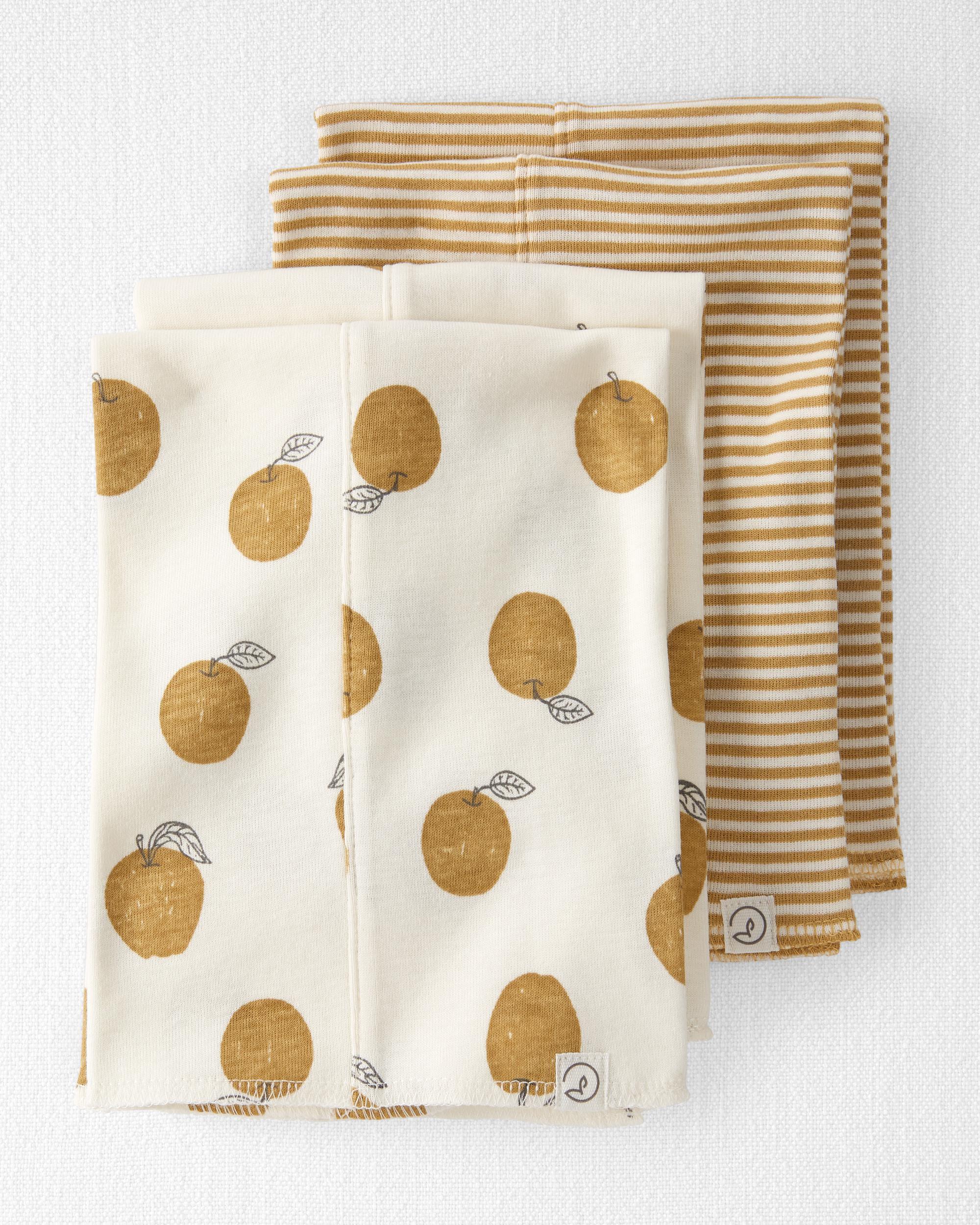 Oshkoshbgosh 4-Pack Organic Cotton Utility Cloths
