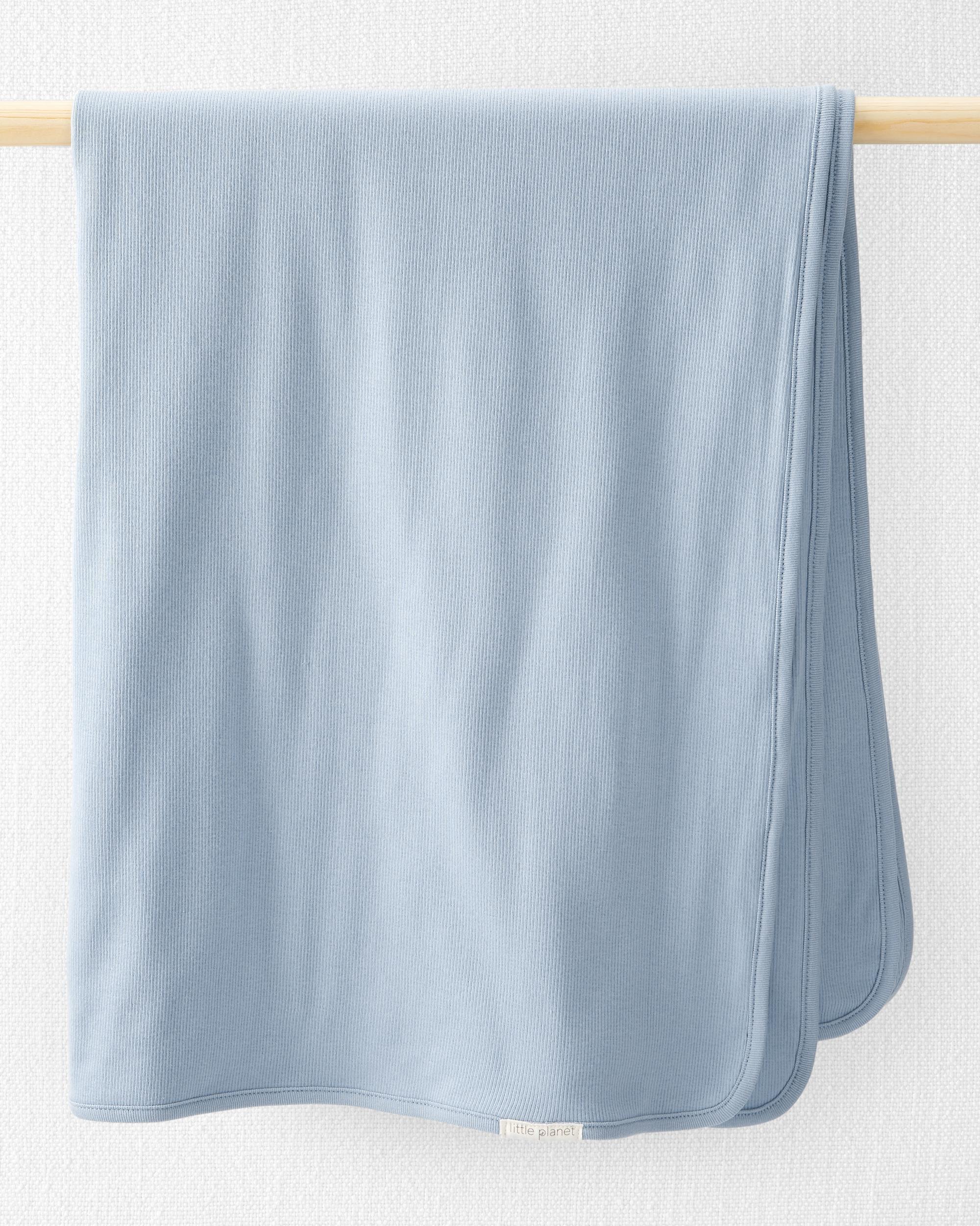 Oshkoshbgosh Organic Cotton Rib Blanket