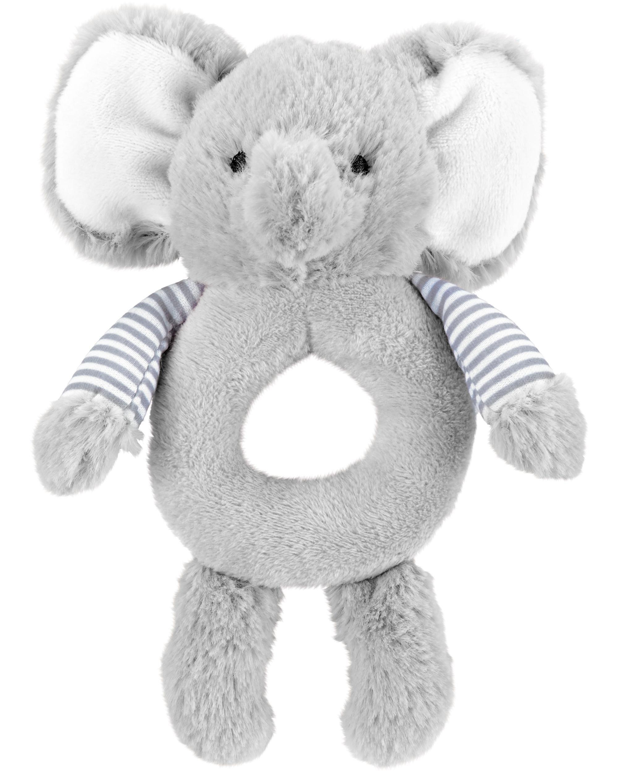 Oshkoshbgosh Elephant Ring Rattle