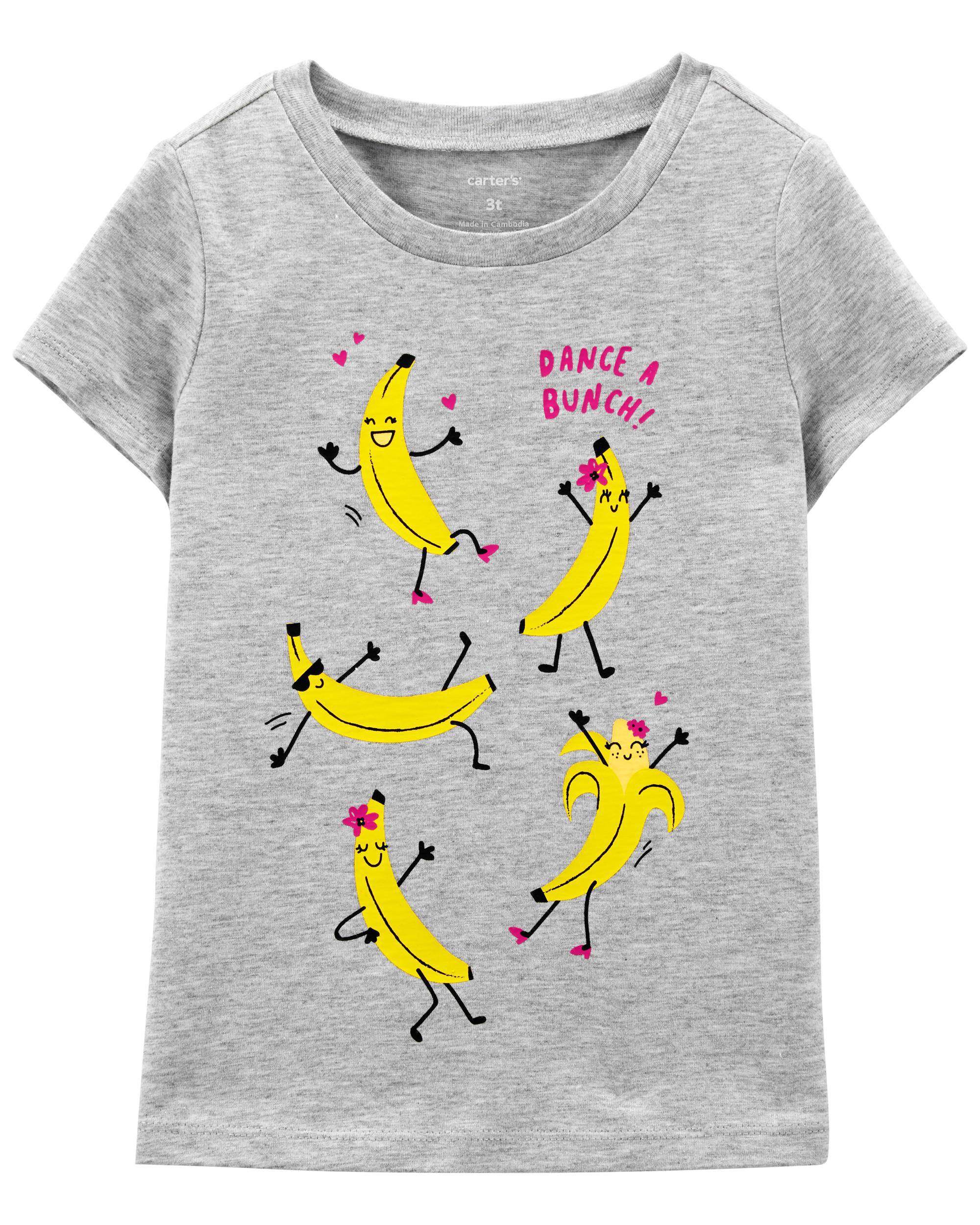 Oshkoshbgosh Dancing Banana Jersey Tee