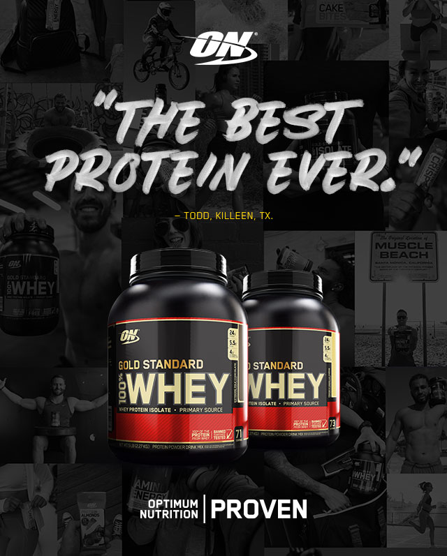 Optimum Nutrition: The Best Protein Ever