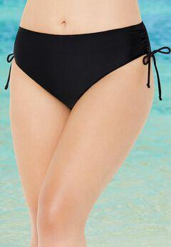 Side Tie Adjustable Swim Brief