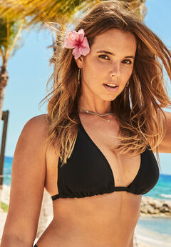 Beach Babe Triangle Bikini Top