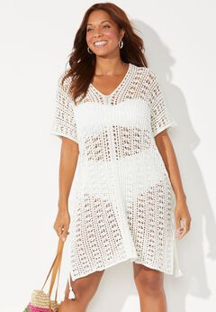 Ada Crochet Cover Up Tunic