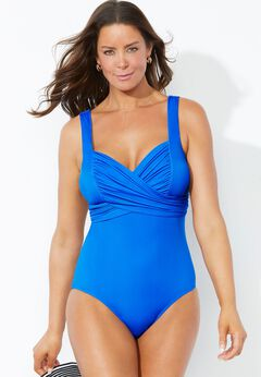 Crossover Sweetheart One Piece Swimsuit